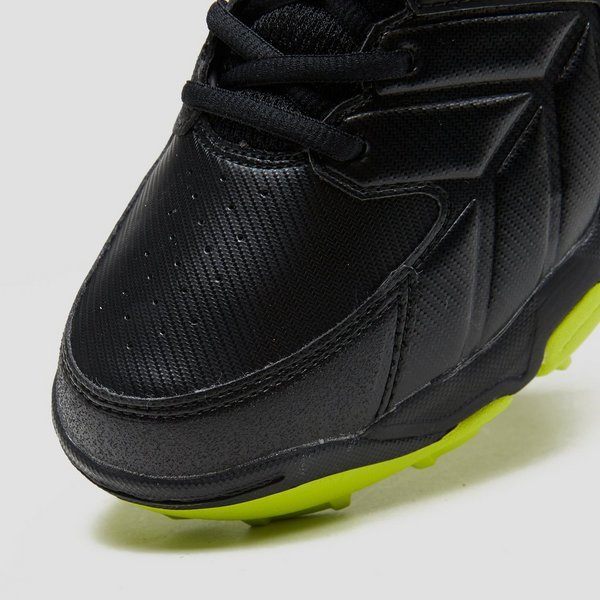 asics zwart met groen