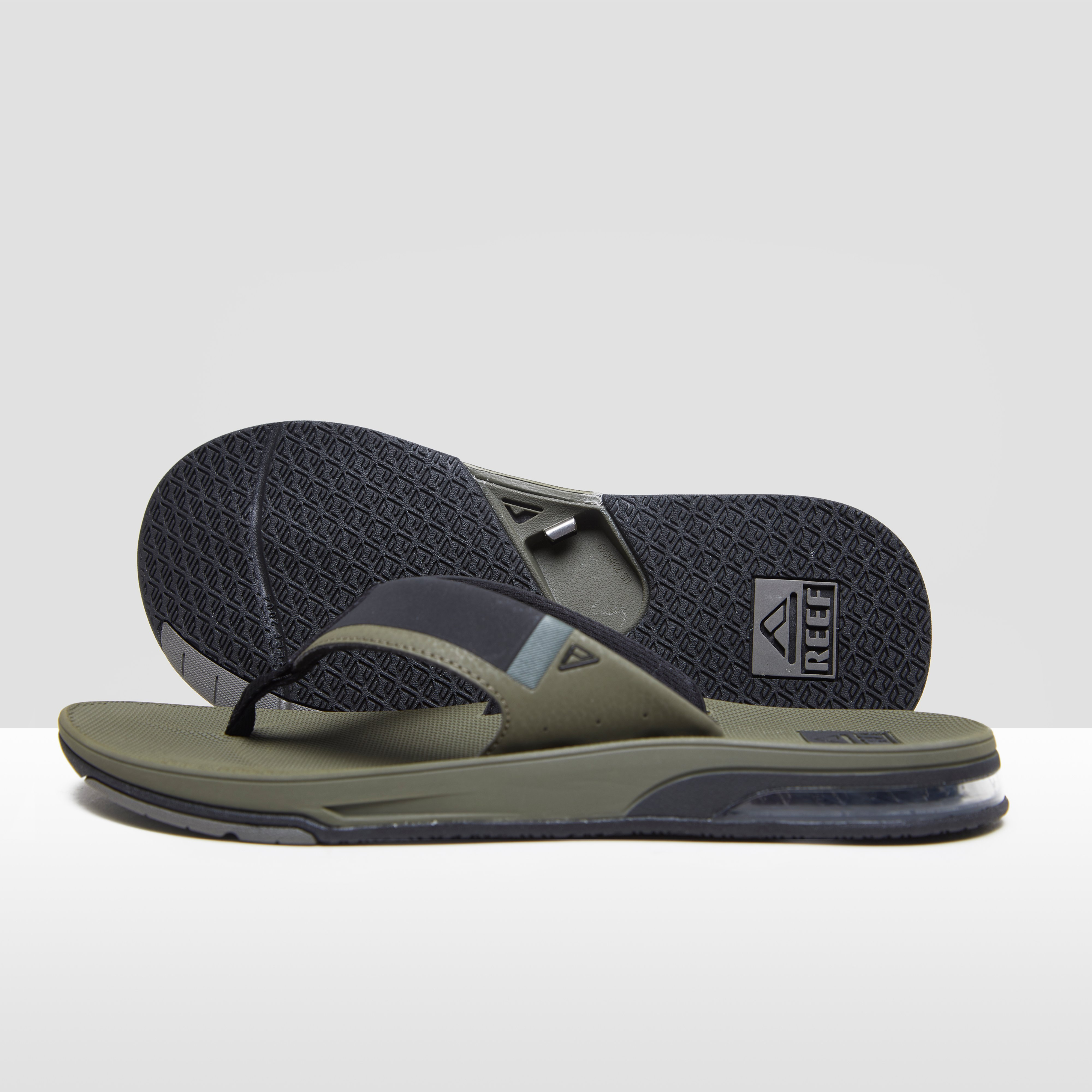 REEF FANNING 2.0 SLIPPERS GROEN HEREN Amazon Goedkope Online ttuAv
