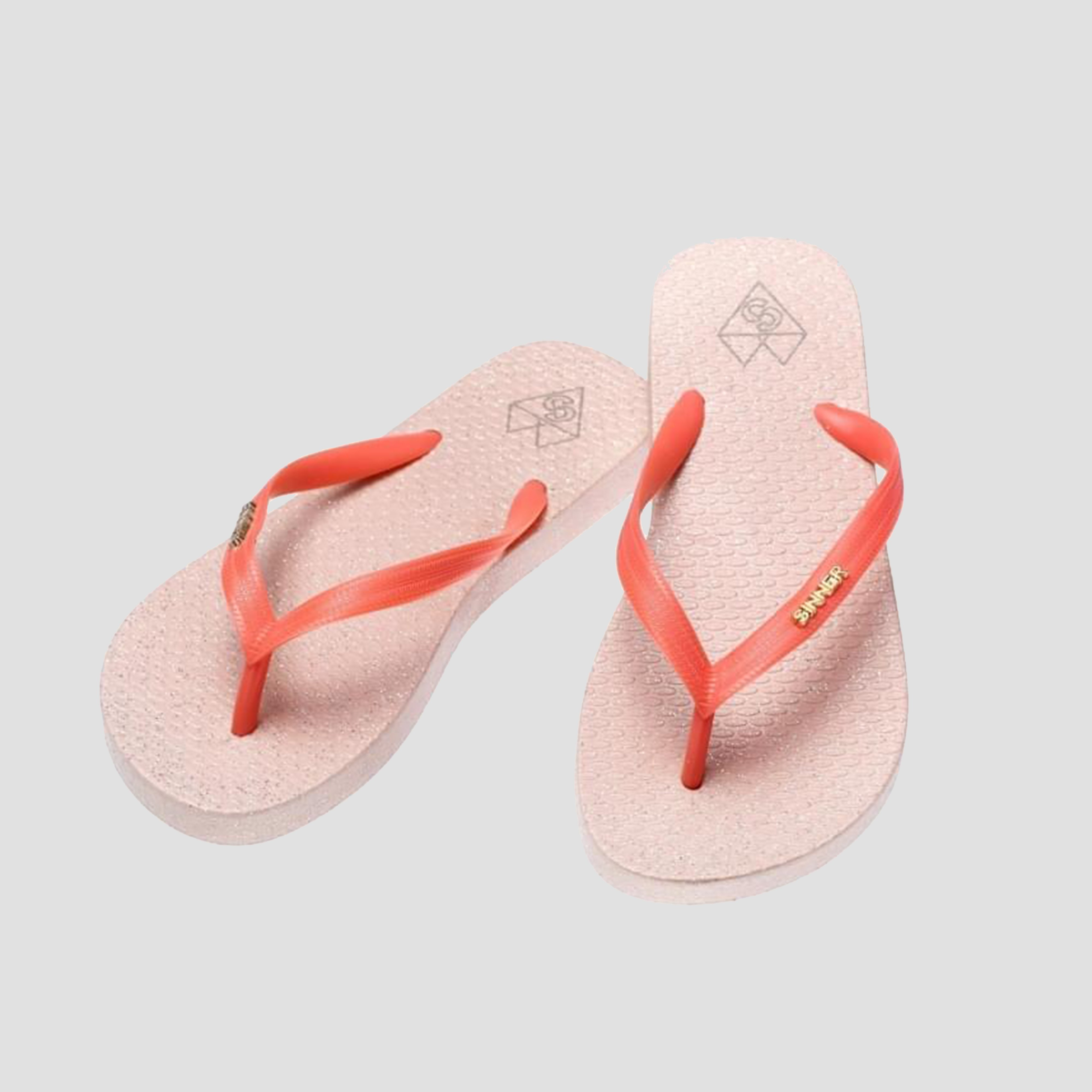 SINNER PADANK SLIPPERS ROZE DAMES