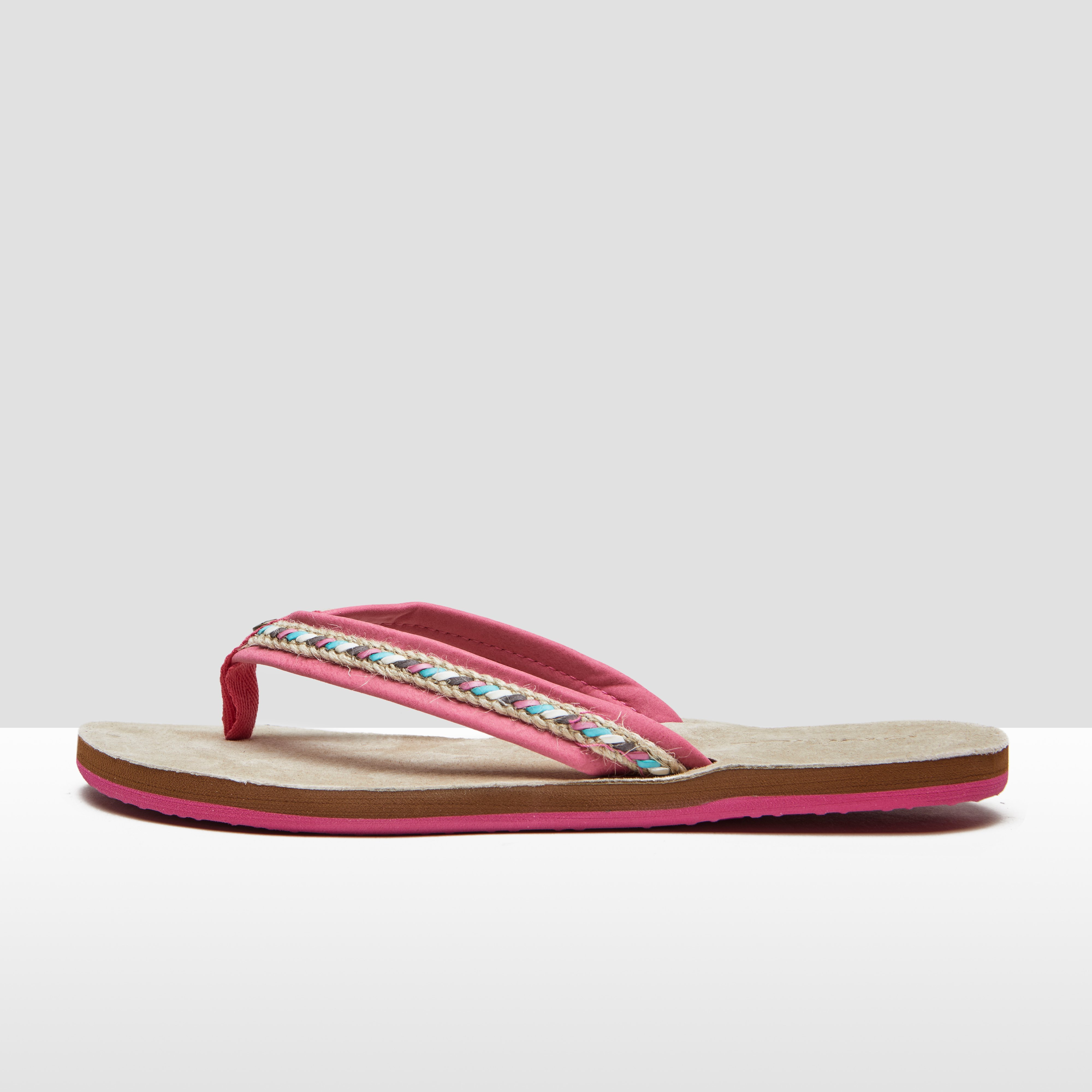 O'NEILL NATURAL STRAP SLIPPERS ROZE DAMES