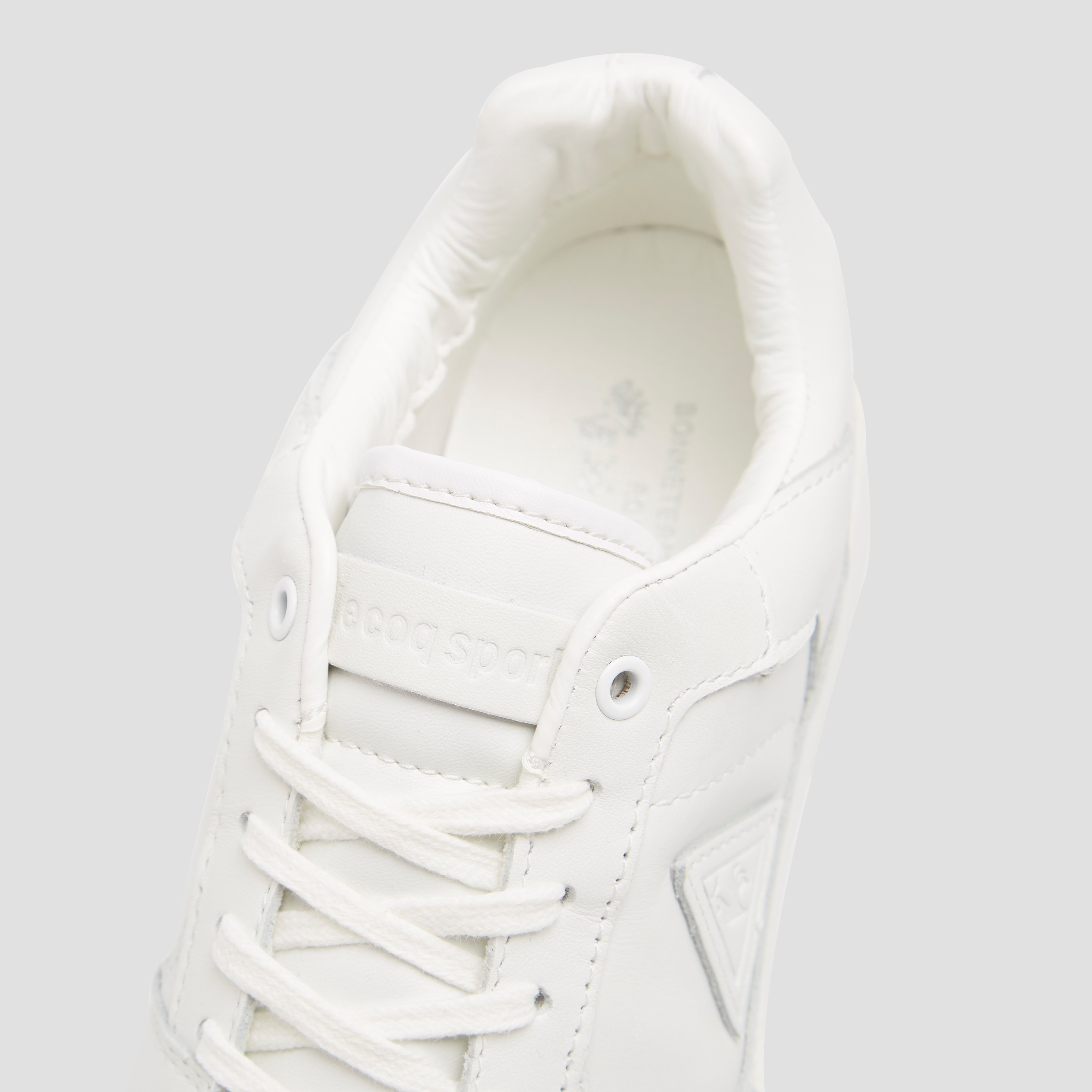 LE COQ SPORTIF GIVERNY LEATHER LOW SNEAKERS WIT HEREN