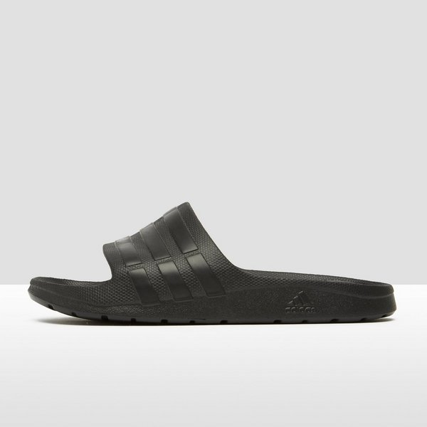huge discount 36e85 7b1f2 ADIDAS DURAMO SLIPPERS ZWART HEREN