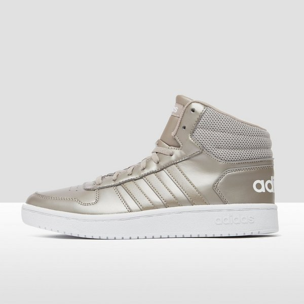 designer fashion 11b5c b3a48 ADIDAS HOOPS 2.0 MID SNEAKERS WIT DAMES
