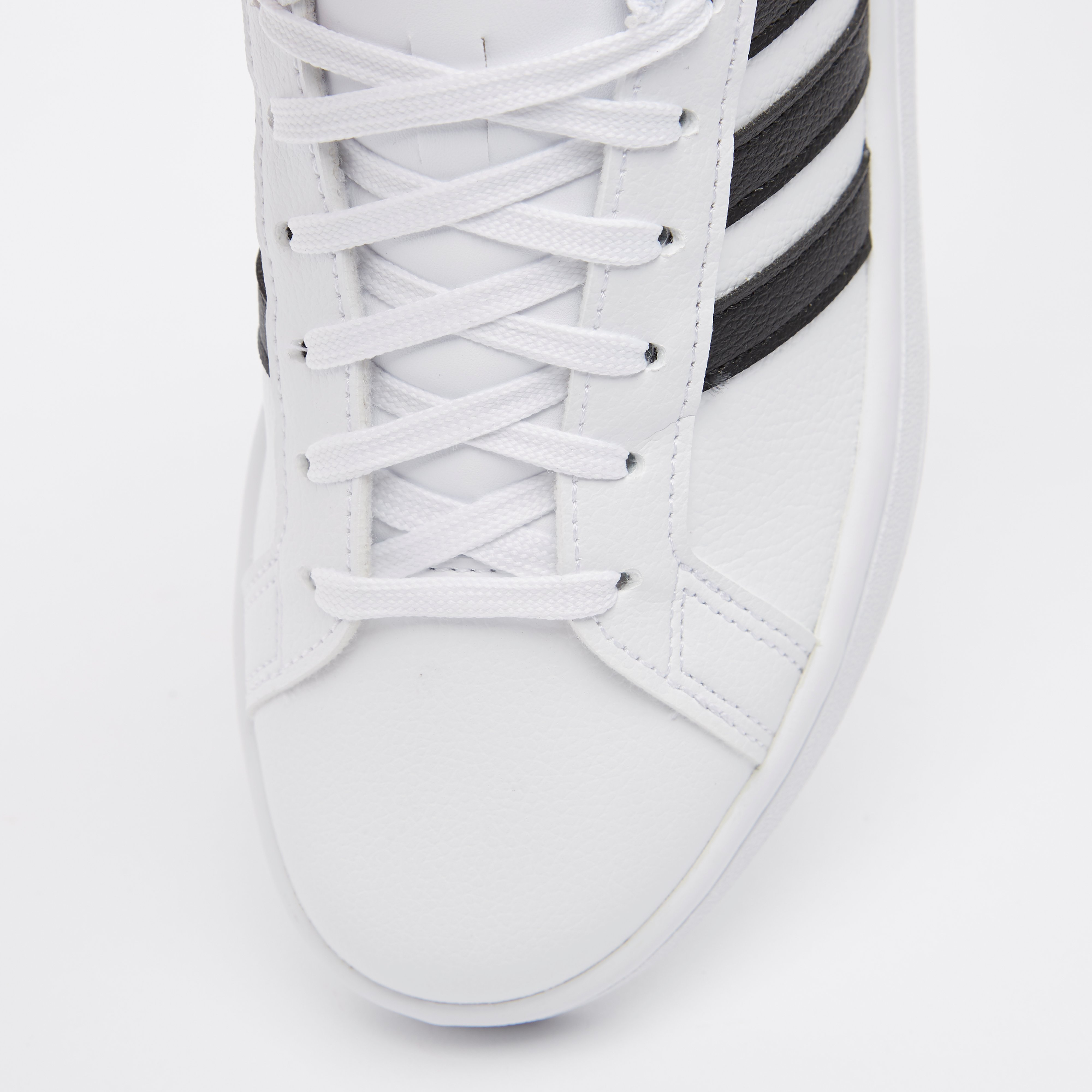 ADIDAS GRAND COURT SNEAKERS WIT/ZWART DAMES