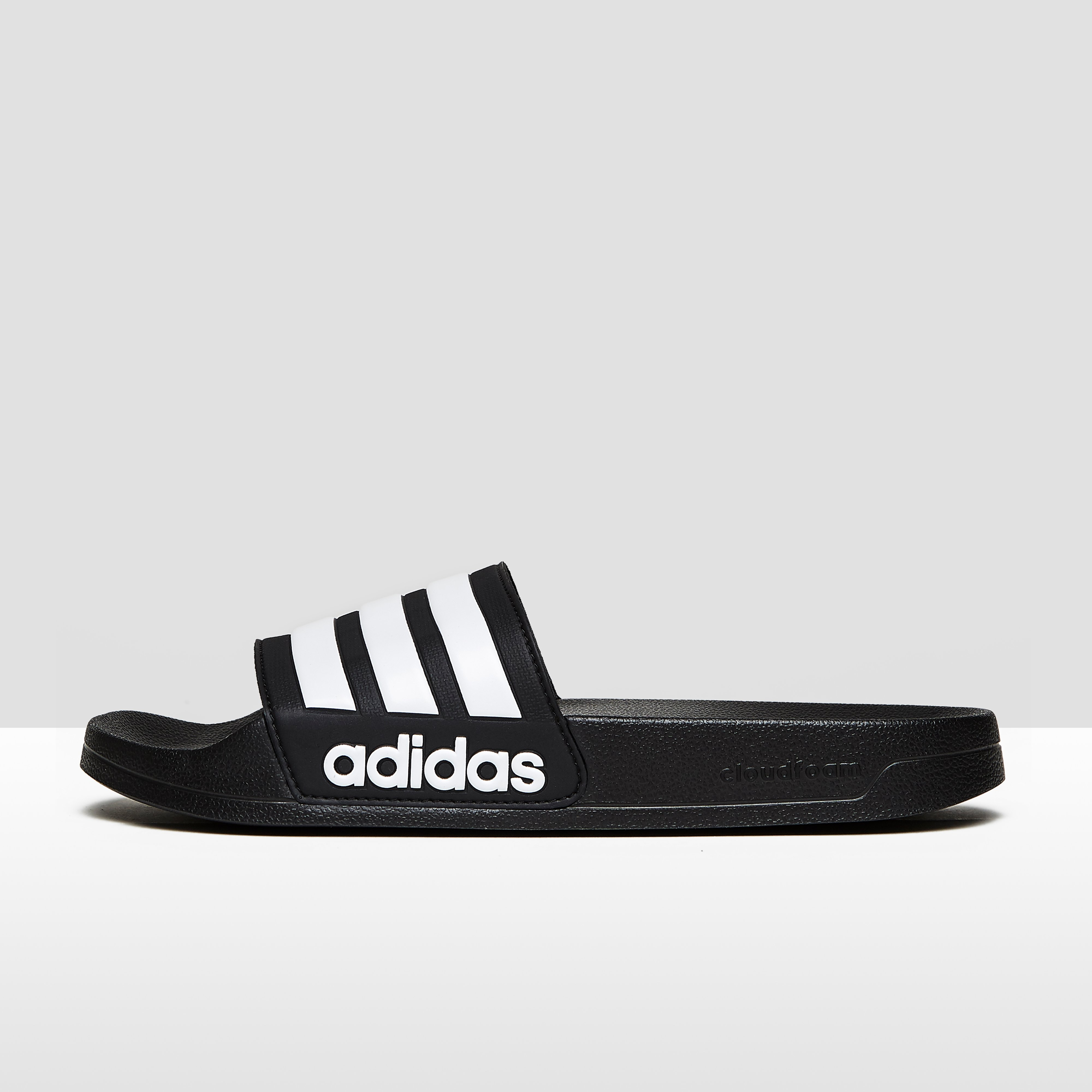 innovative design b64c4 ce2a6 ADIDAS CLOUDFOAM ADILETTE SLIPPERS ZWART HEREN