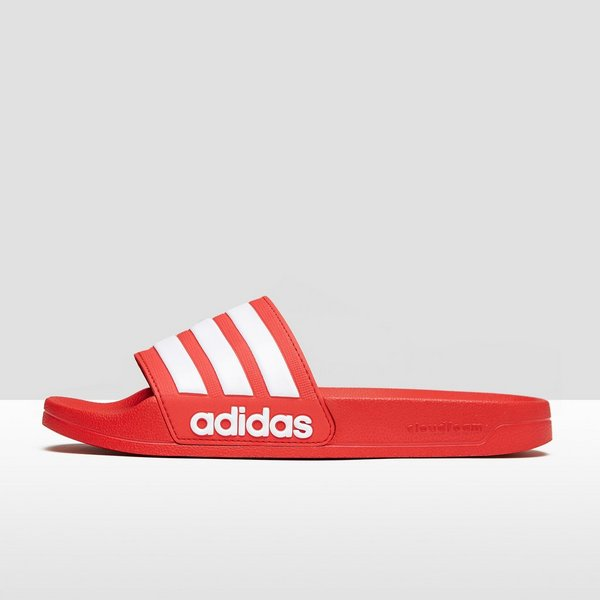 adidas cloudfoam slippers rood