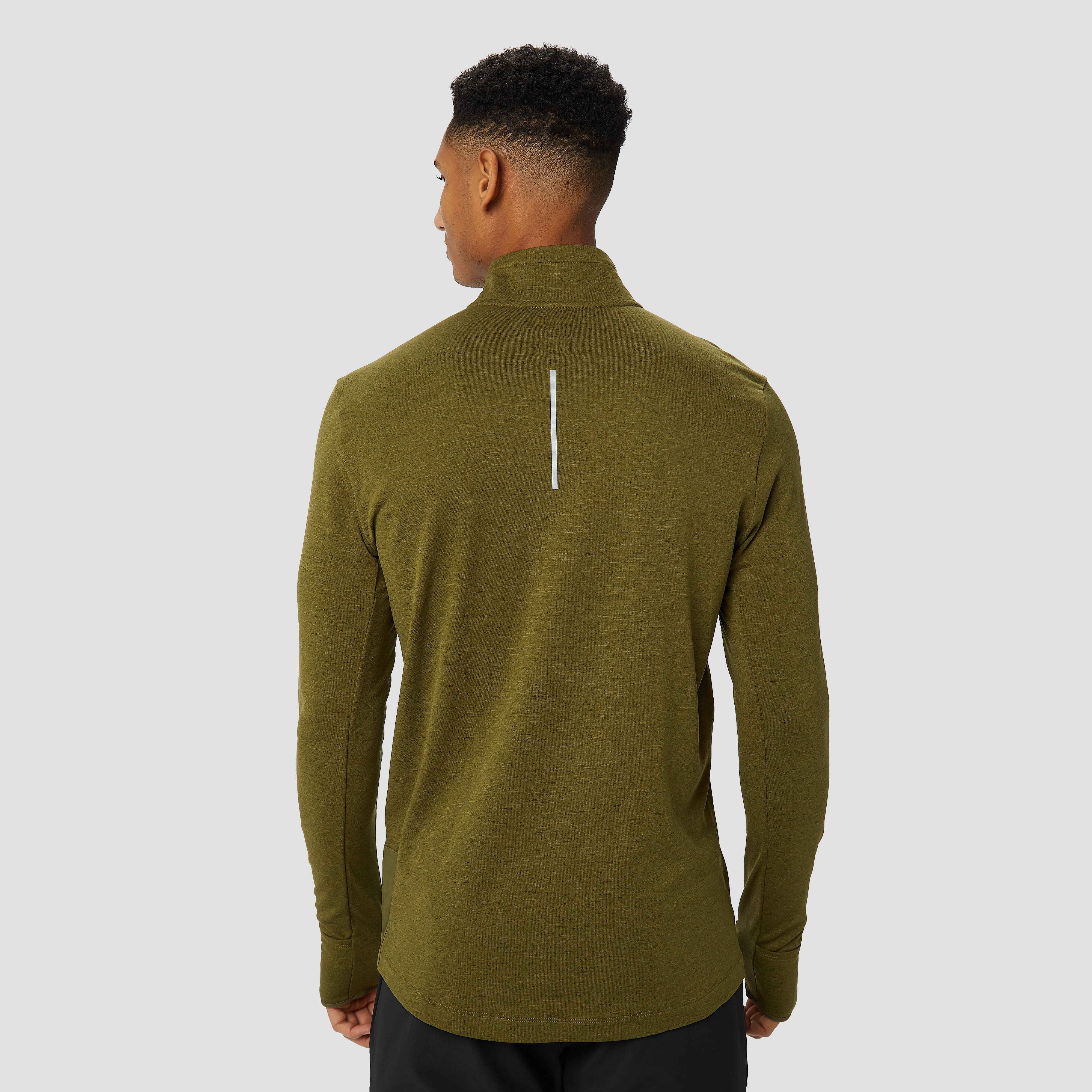 NIKE THERMA SPHERE ELEMENT HARDLOOPTOP GROEN HEREN