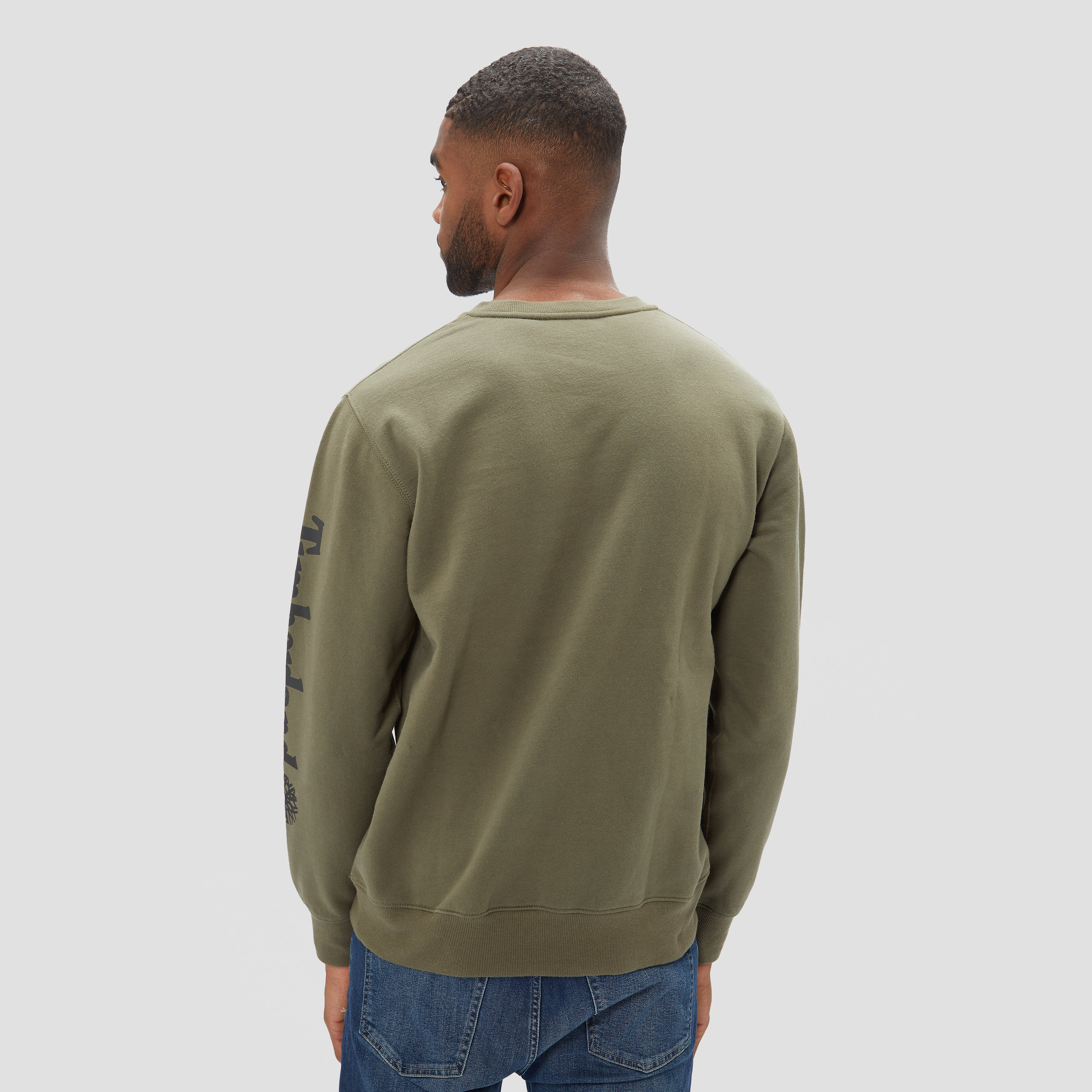 TIMBERLAND CREW SEASONAL OUTDOOR SWEATER GROEN HEREN