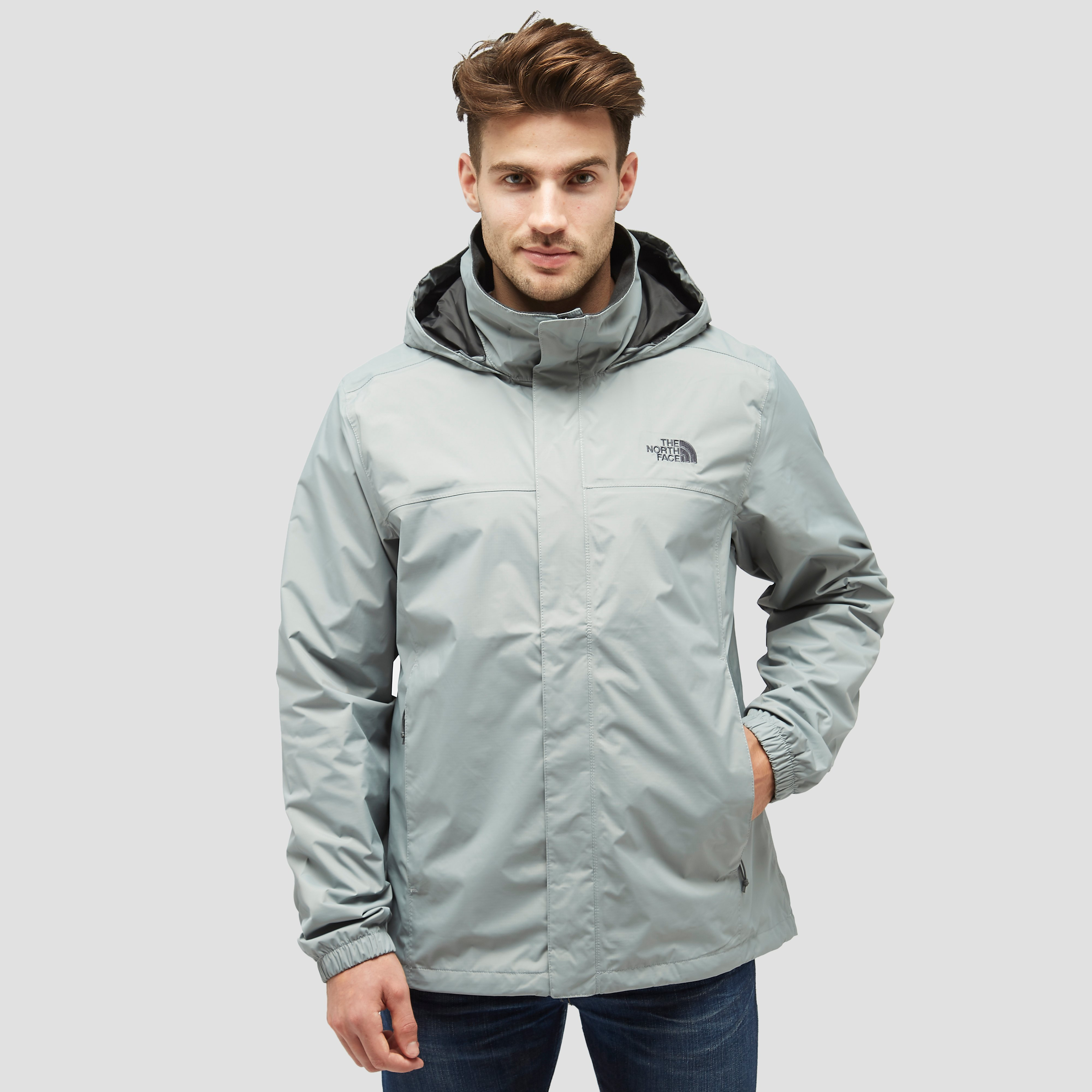 THE NORTH FACE RESOLVE 2 OUTDOOR JAS GRIJS HEREN