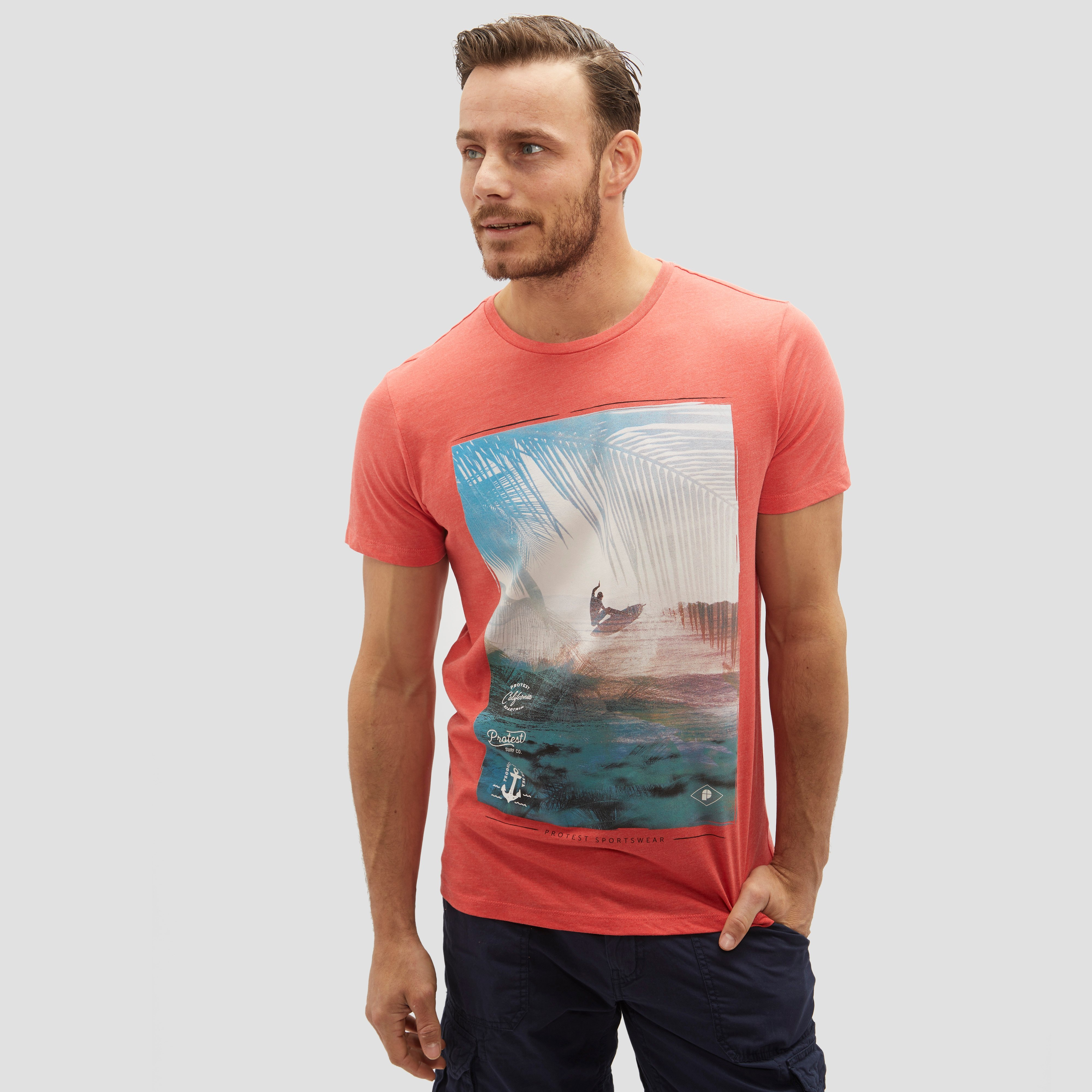 PROTEST MULHAY SHIRT ROOD HEREN