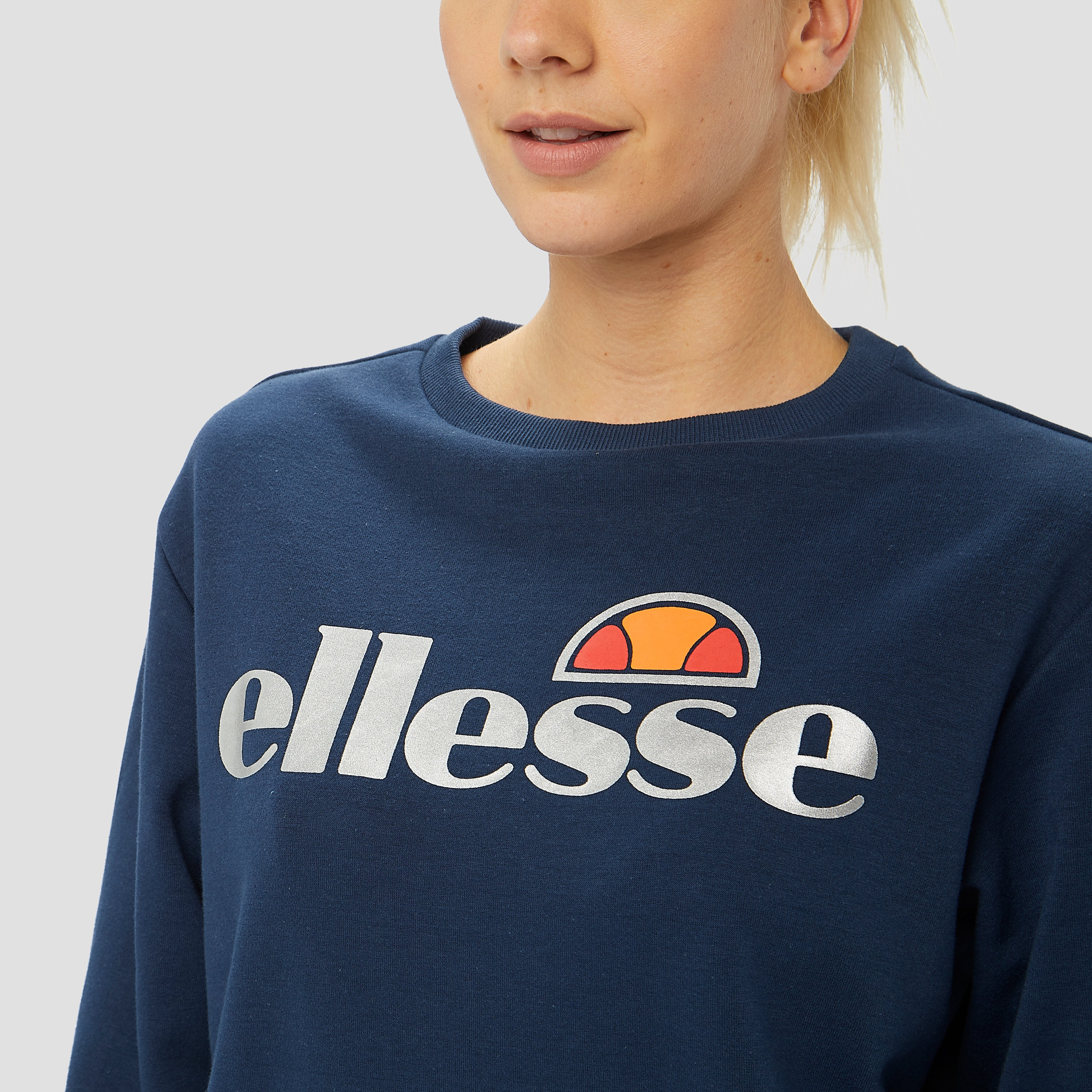ELLESSE WINONA CREW SWEATER BLAUW DAMES