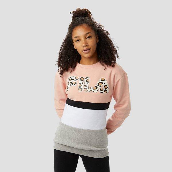 Crew Sweater Fila Animal Dames Fausta Perrysport Rozegrijs A5xqxpw0