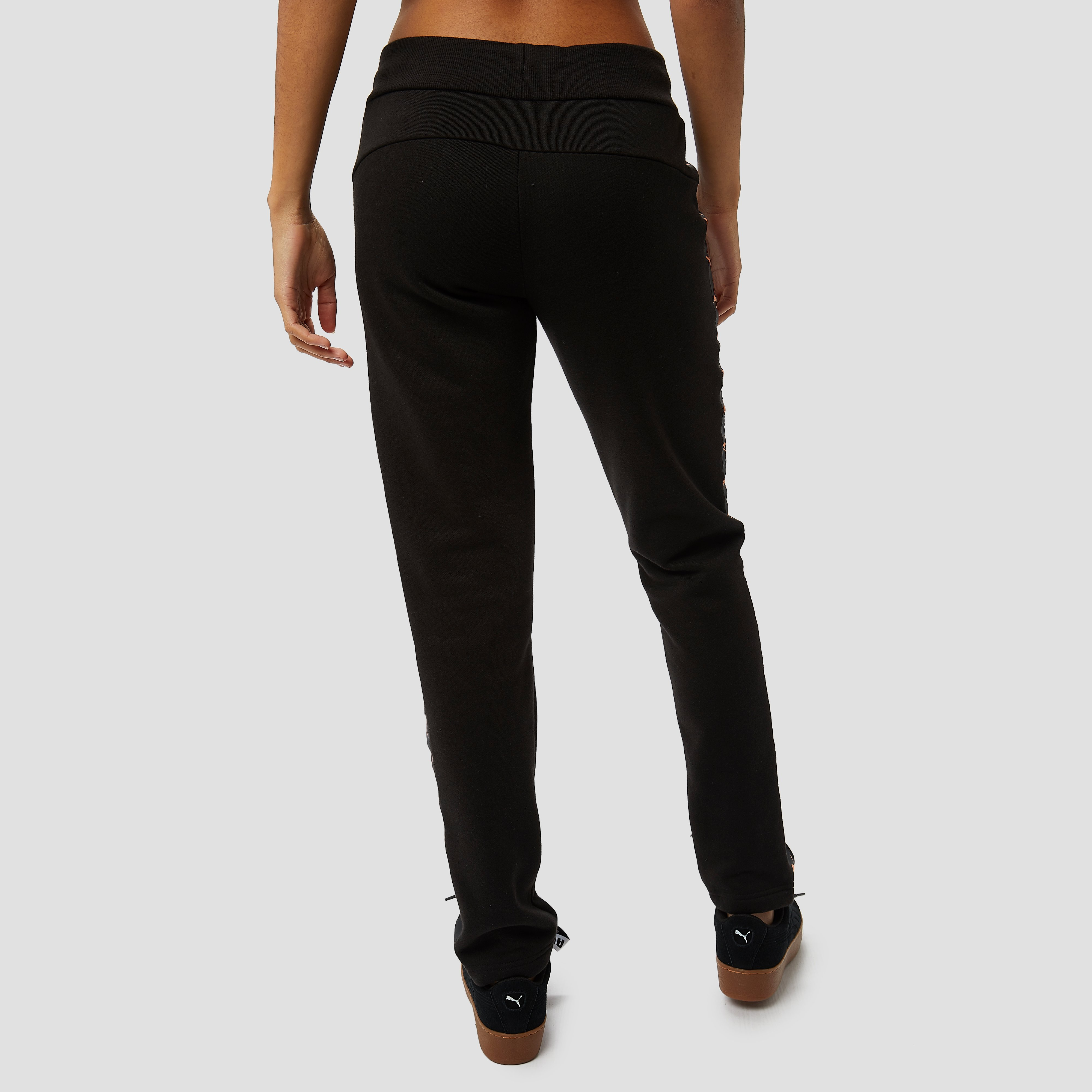 PUMA TAPED JOGGINGBROEK ZWART DAMES