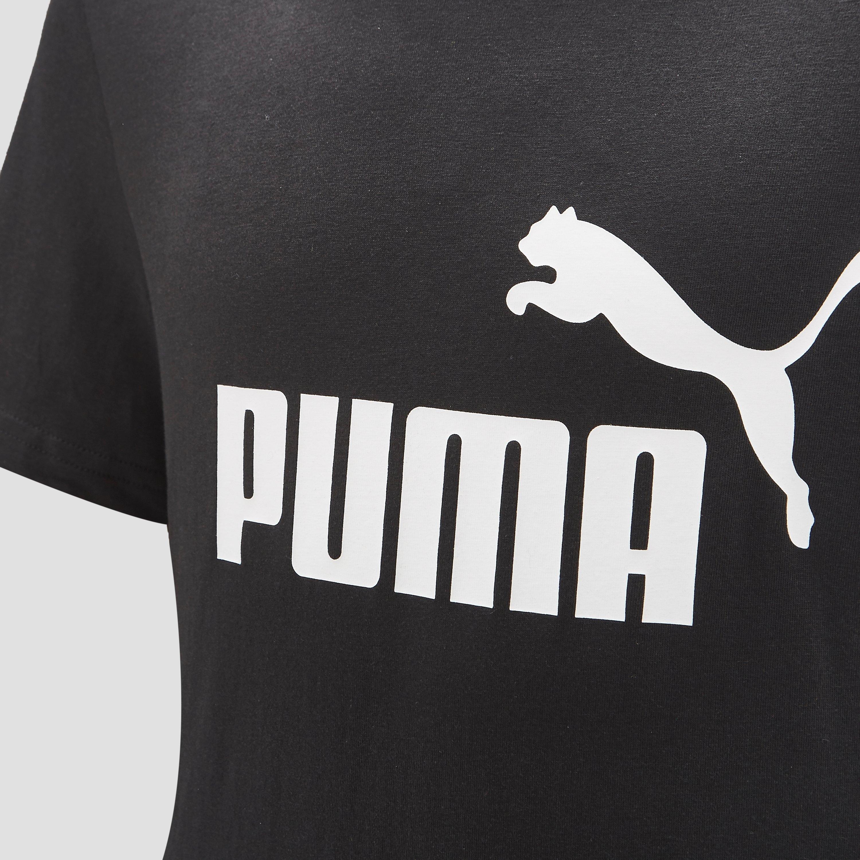 PUMA NO. 1 LOGO SHIRT ZWART JONGENS