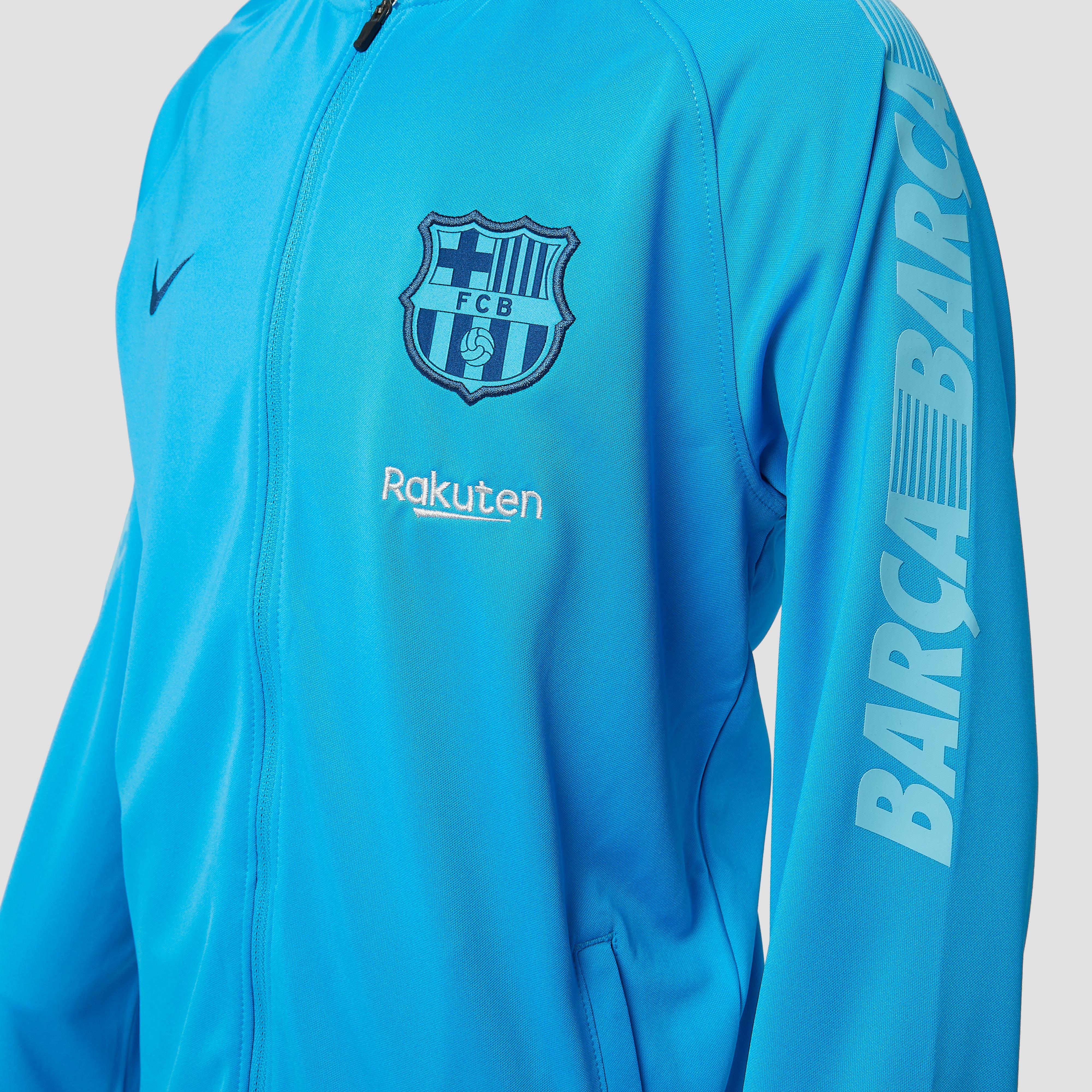 NIKE FC BARCELONA DRY SQUAD TRAININGSPAK 18/19 BLAUW KINDEREN