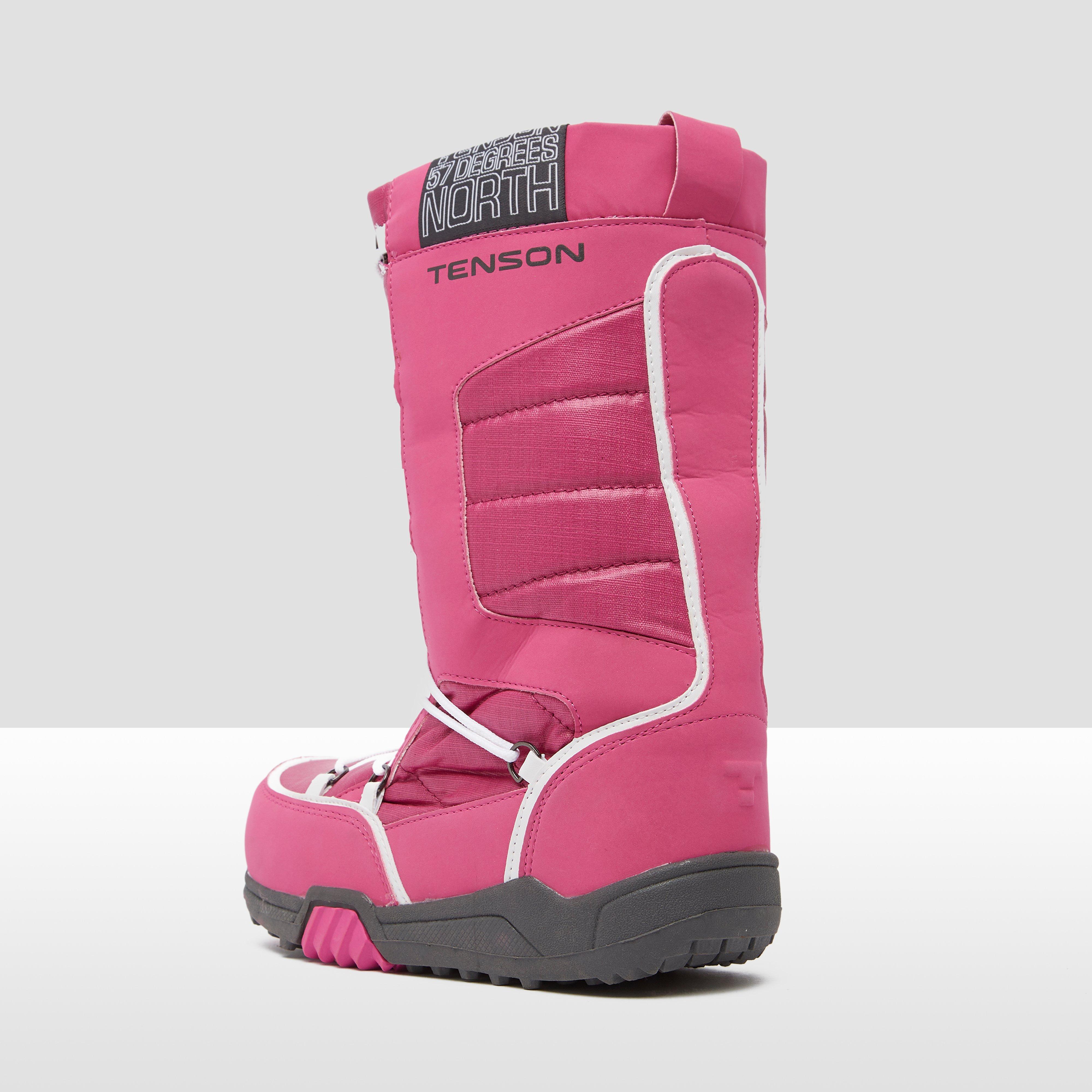TENSON ALPH MID PLUS SNOWBOOTS ROZE/WIT KINDEREN
