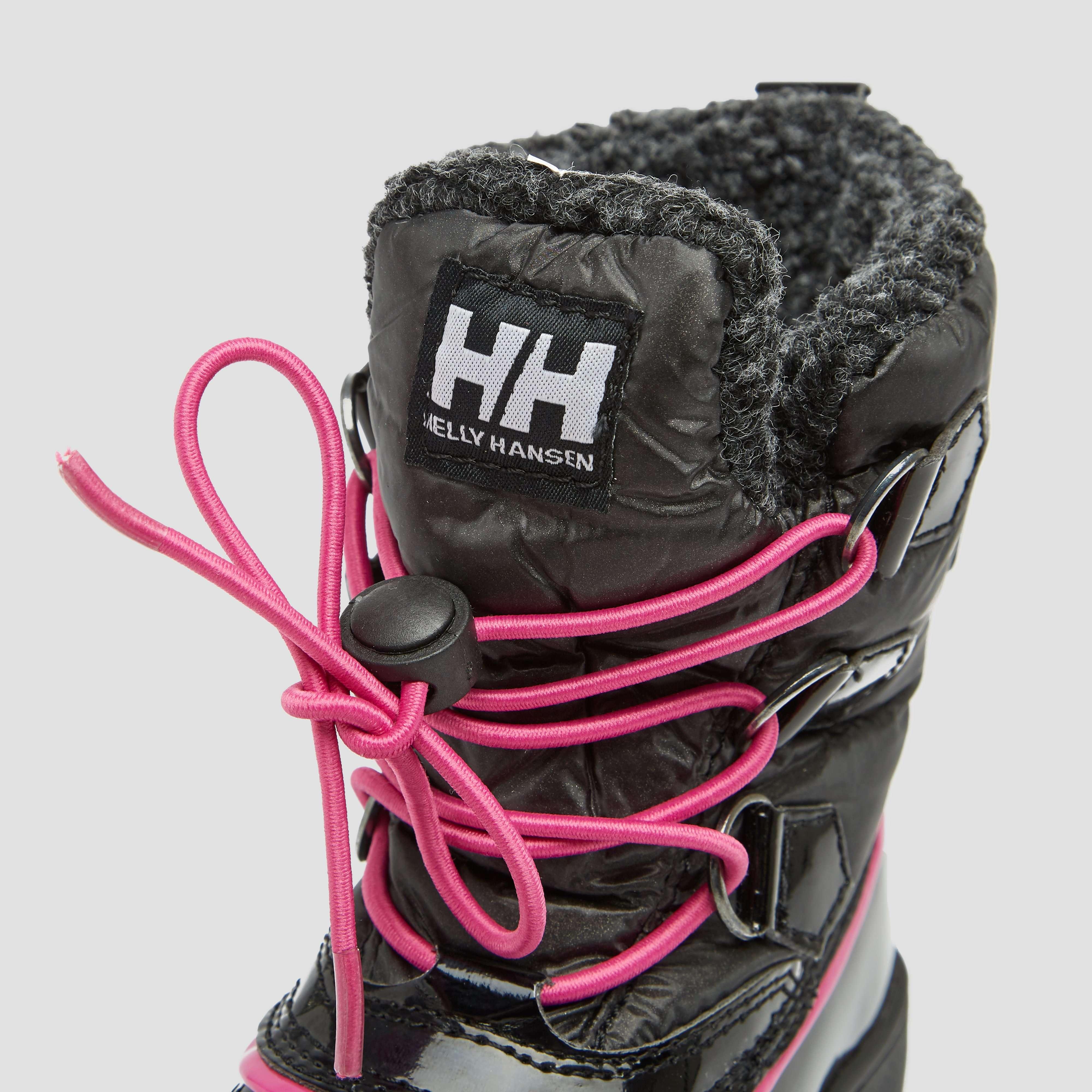 HELLY HANSEN LINE SNOWBOOTS ZWART/ROZE KINDEREN