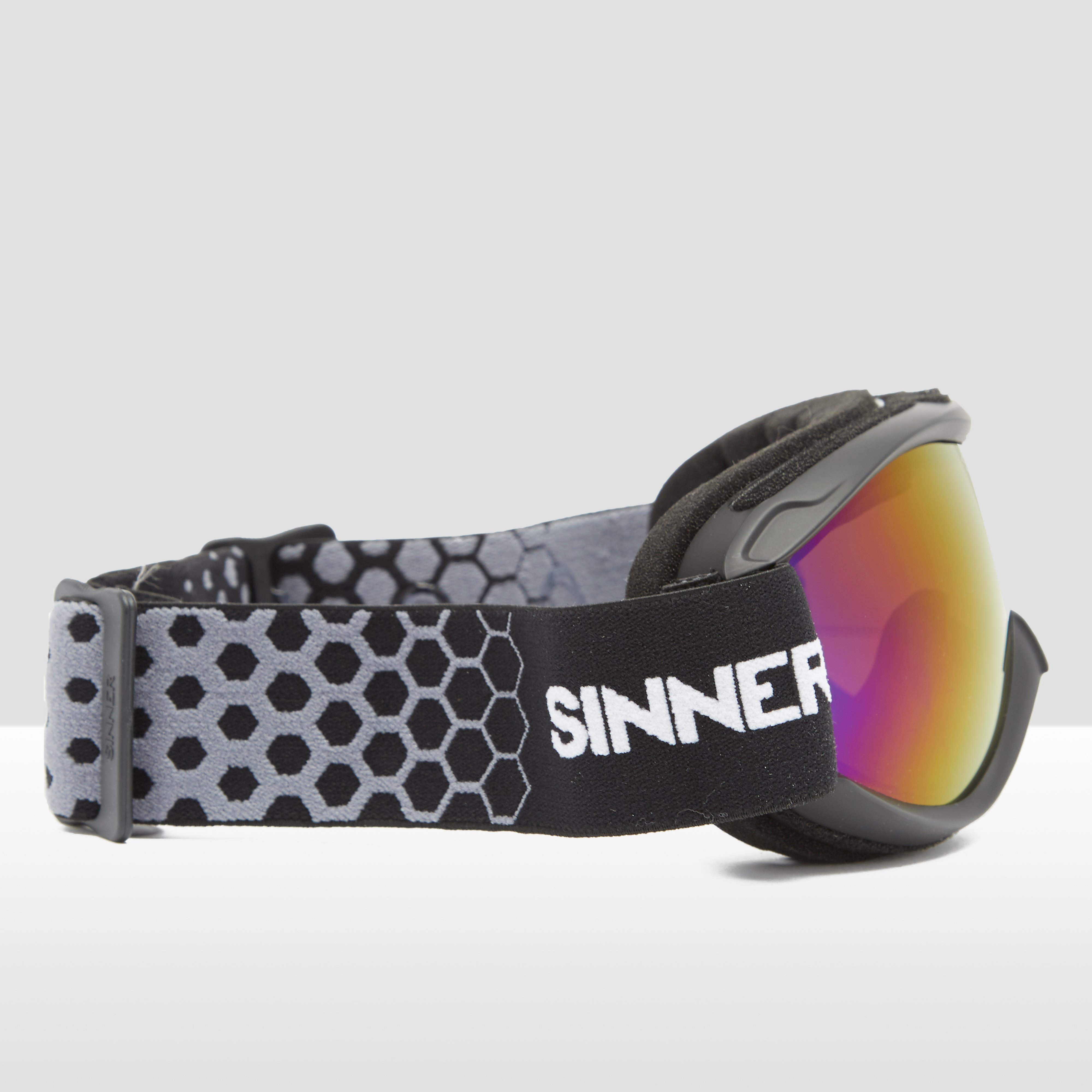 SINNER TOXIC SKIBRIL ZWART/PAARS