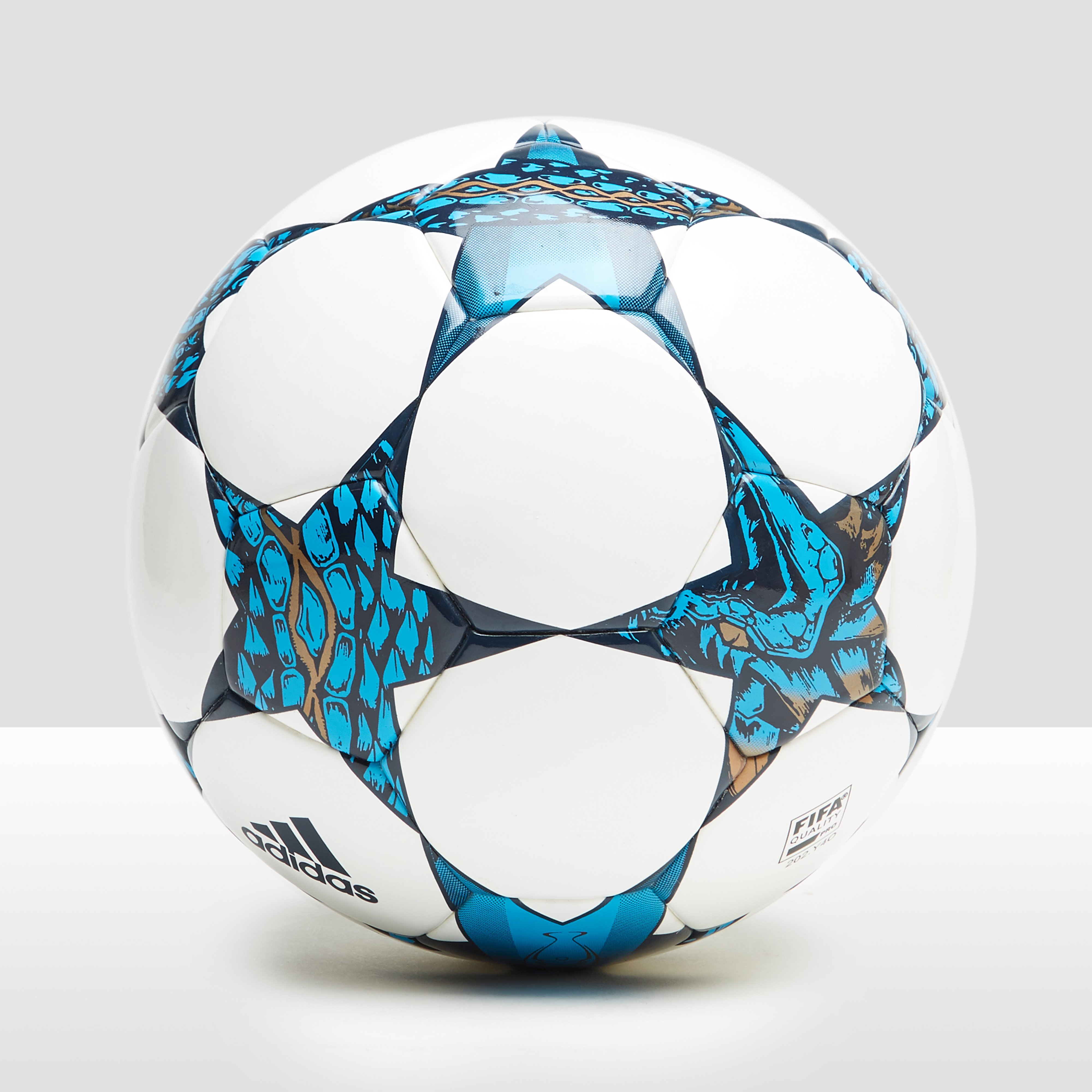 ADIDAS FINALE CARDIFF COMPETITION VOETBAL WIT/BLAUW