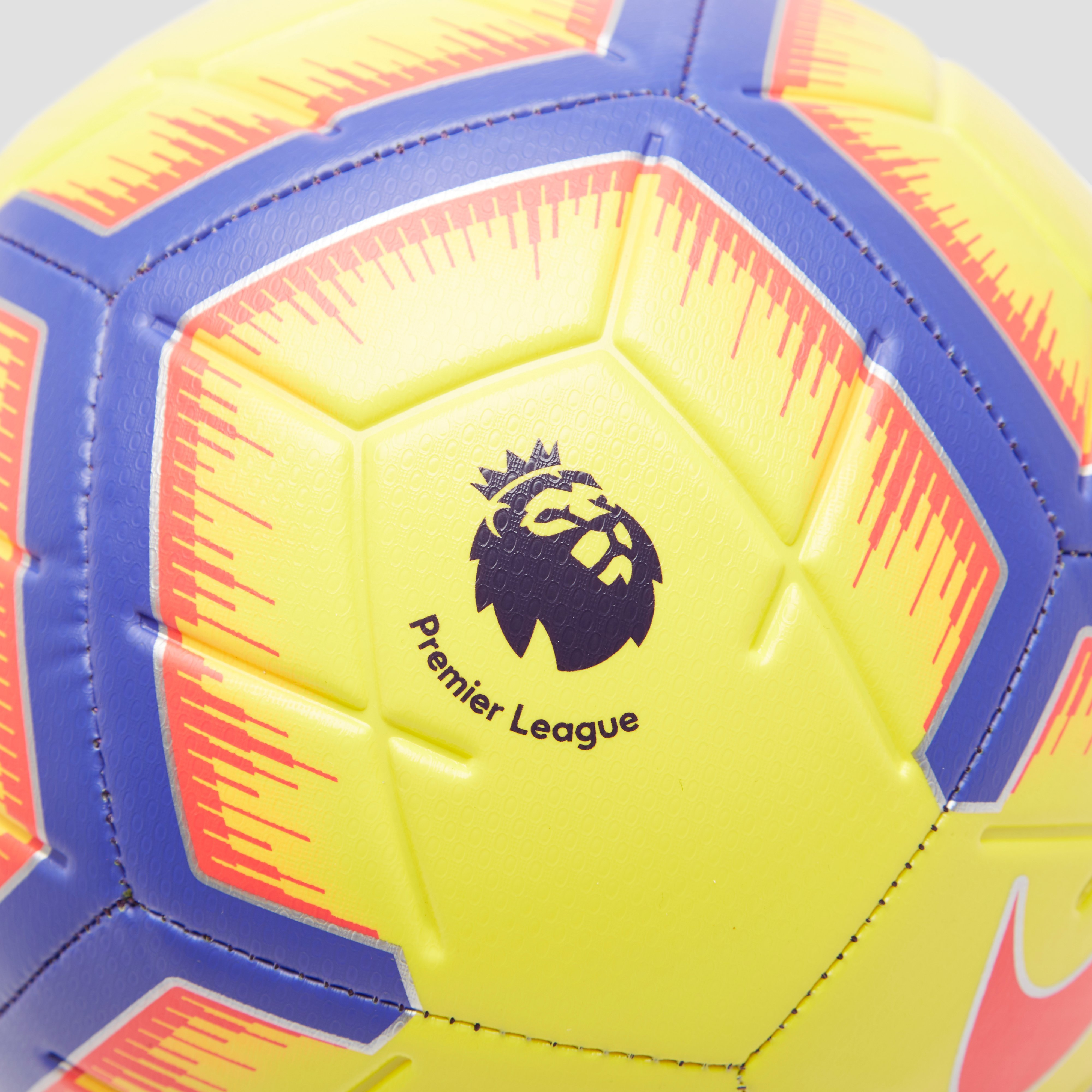 NIKE PREMIER LEAGUE STRIKE VOETBAL GEEL