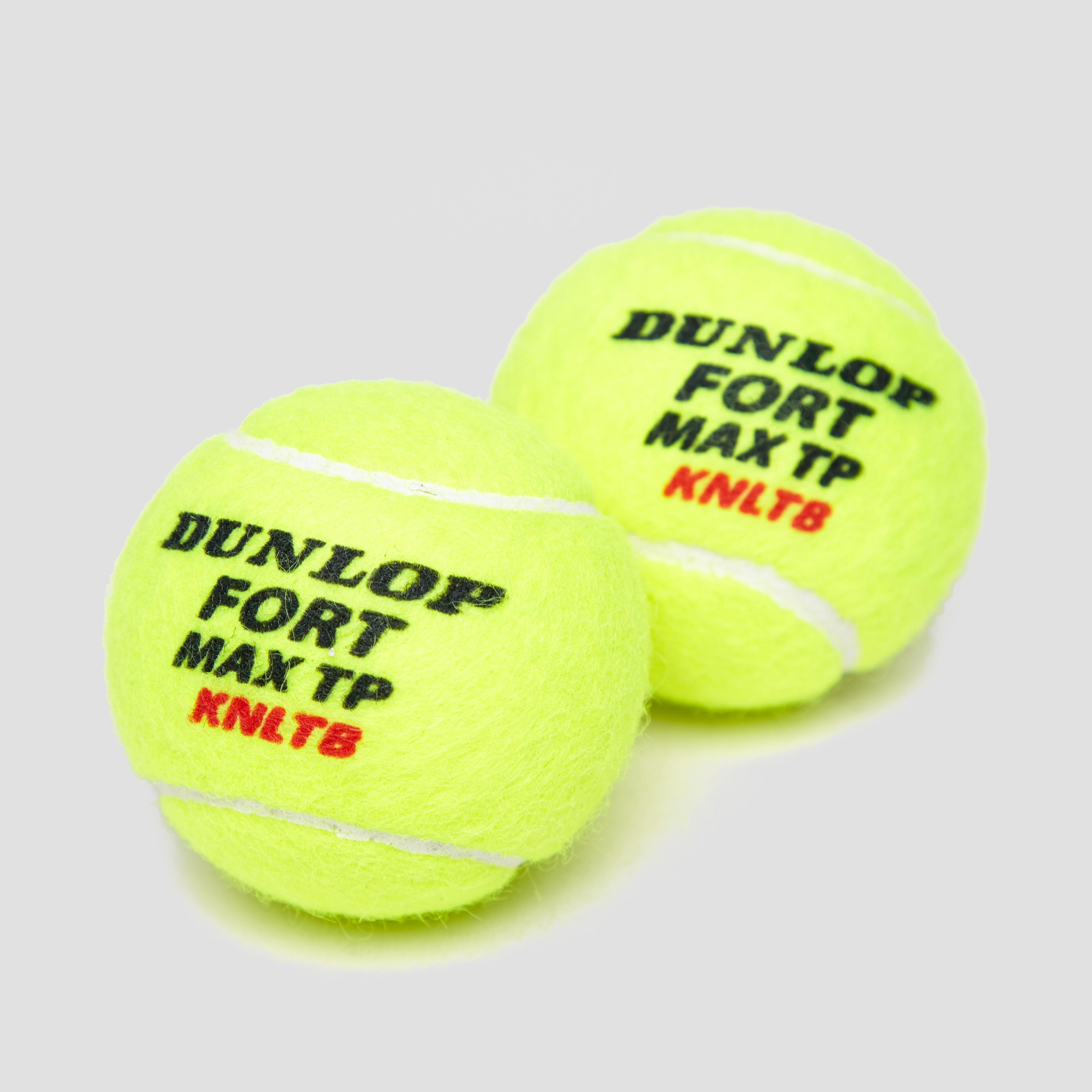 DUNLOP FORT MAX TP 4-PACK TENNISBALLEN GEEL