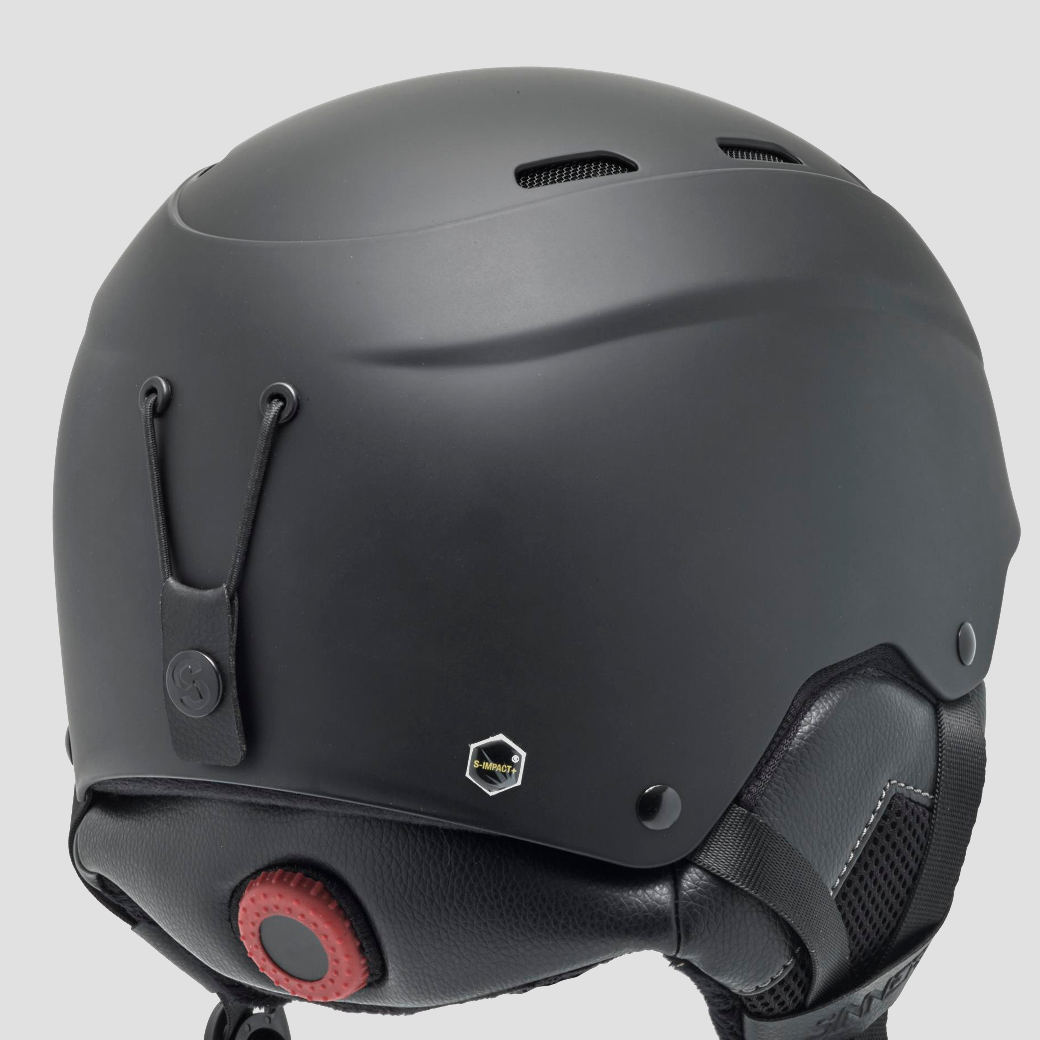 SINNER TYPHOON SKIHELM ZWART