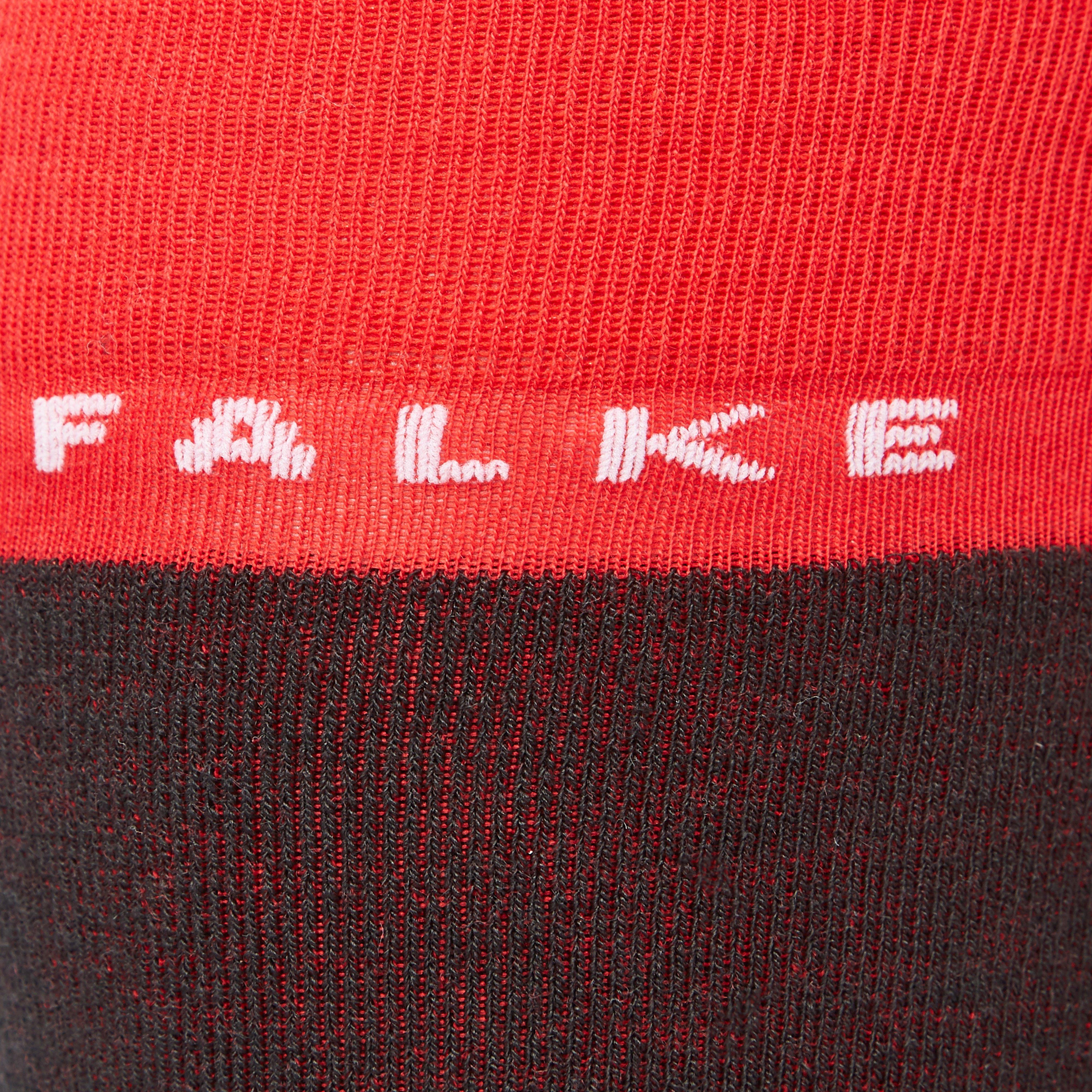 FALKE SK4 SKISOKKEN ROOD/ZWART HEREN