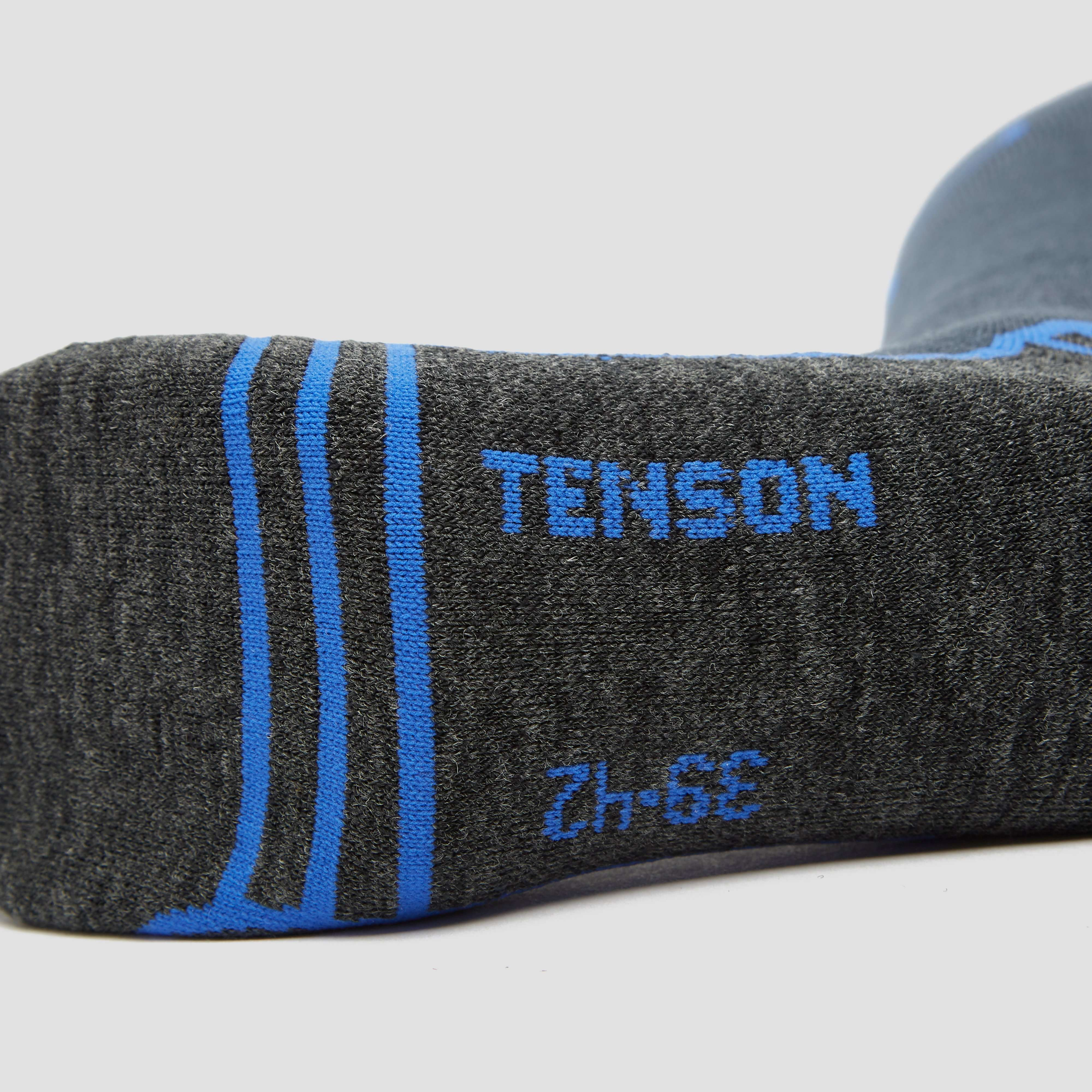TENSON CORE PERFORMANCE SKISOKKEN 2-PACK ZWART/BLAUW HEREN