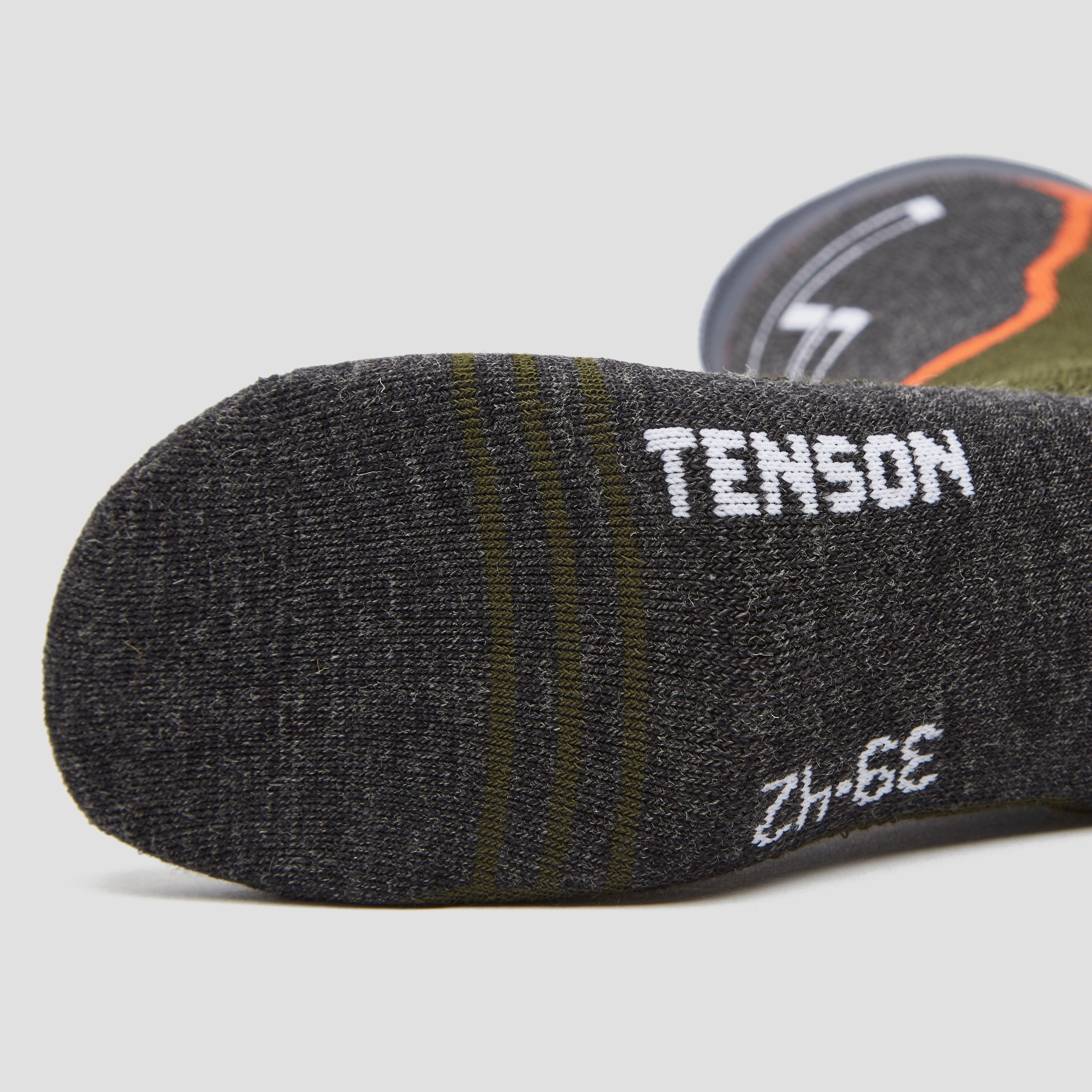 TENSON HIGH PERFORMANCE SKISOKKEN 1-PACK GRIJS DAMES