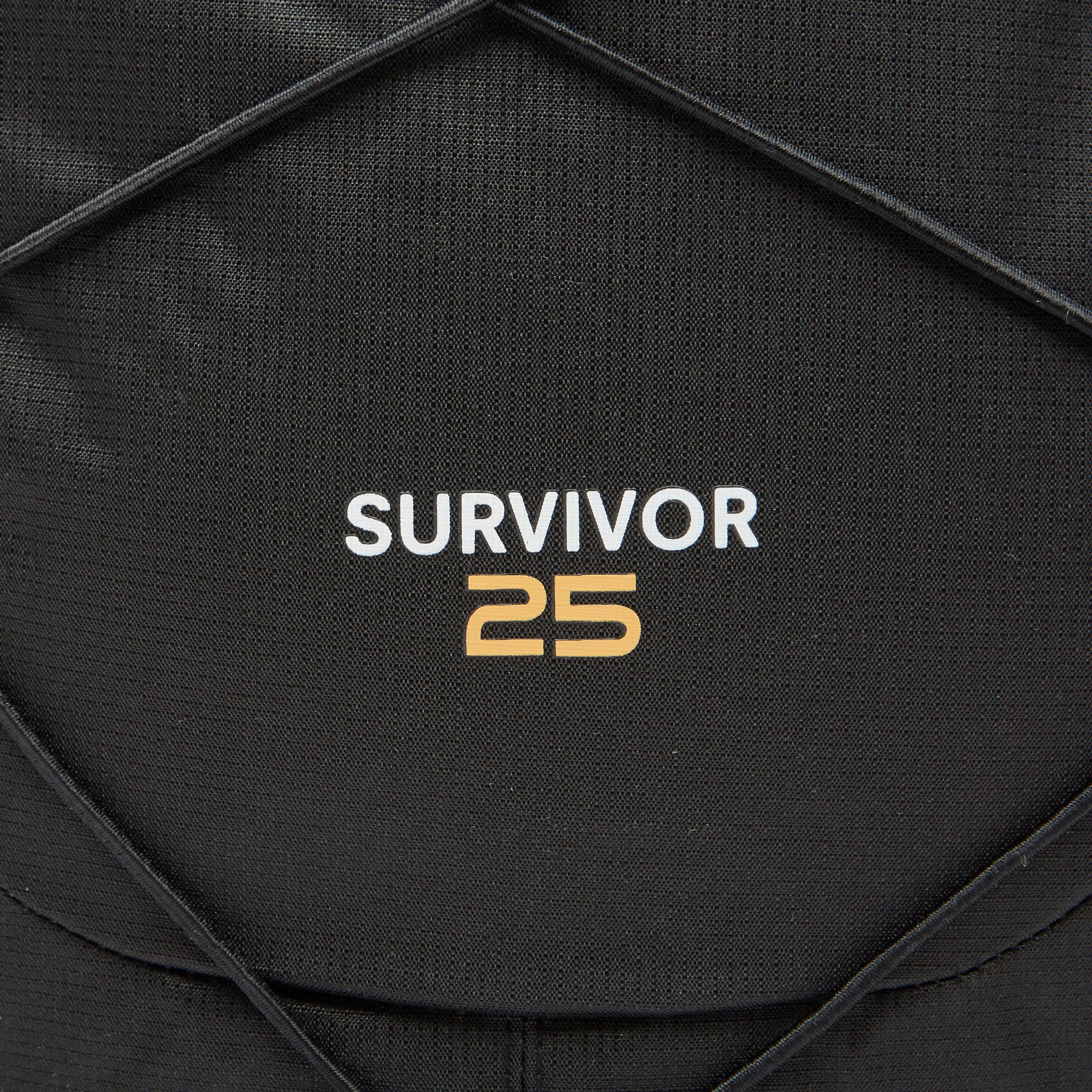 REGATTA SURVIVOR III DAYPACK 25 LITER ZWART