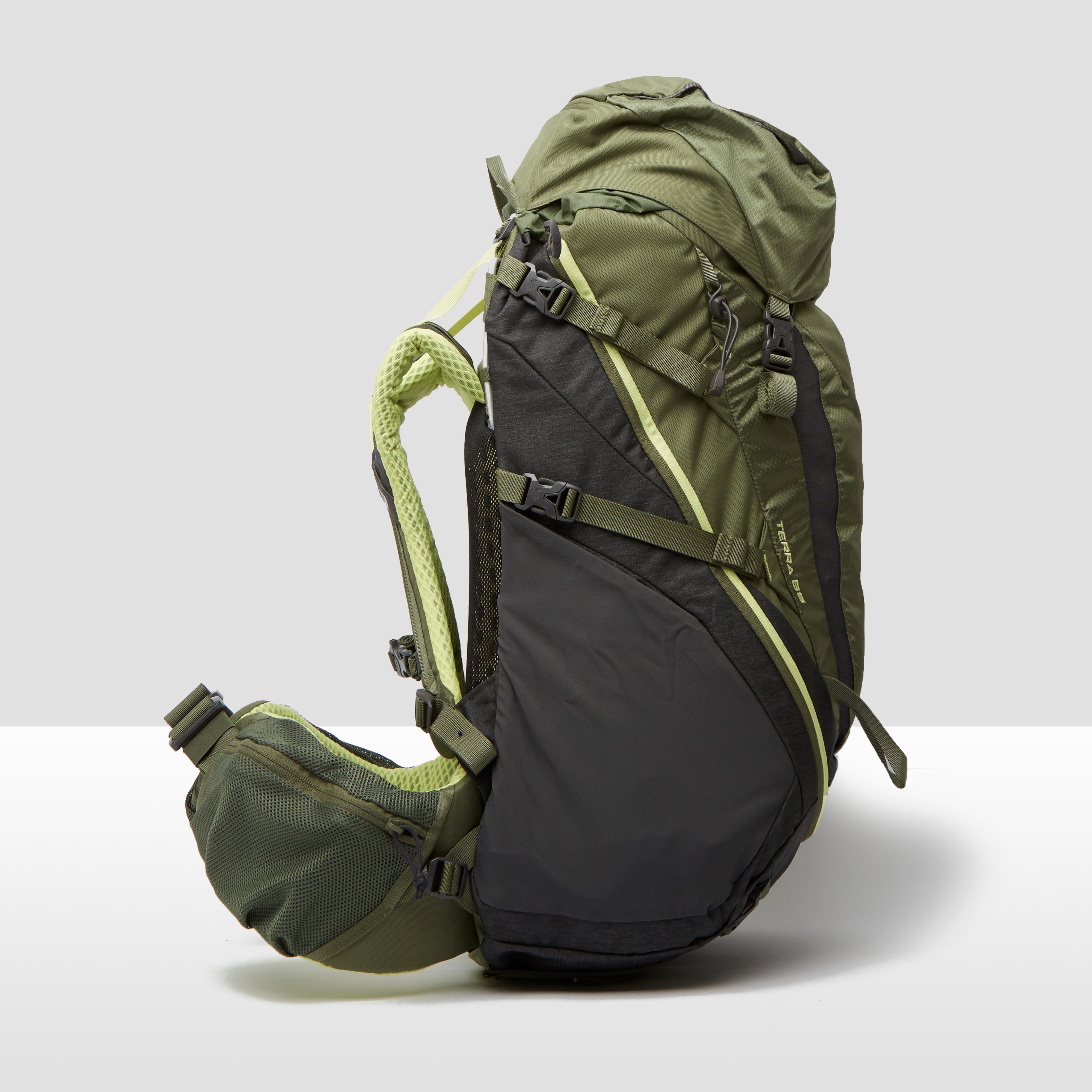 THE NORTH FACE TERRA BACKPACK 55 LITER GROEN