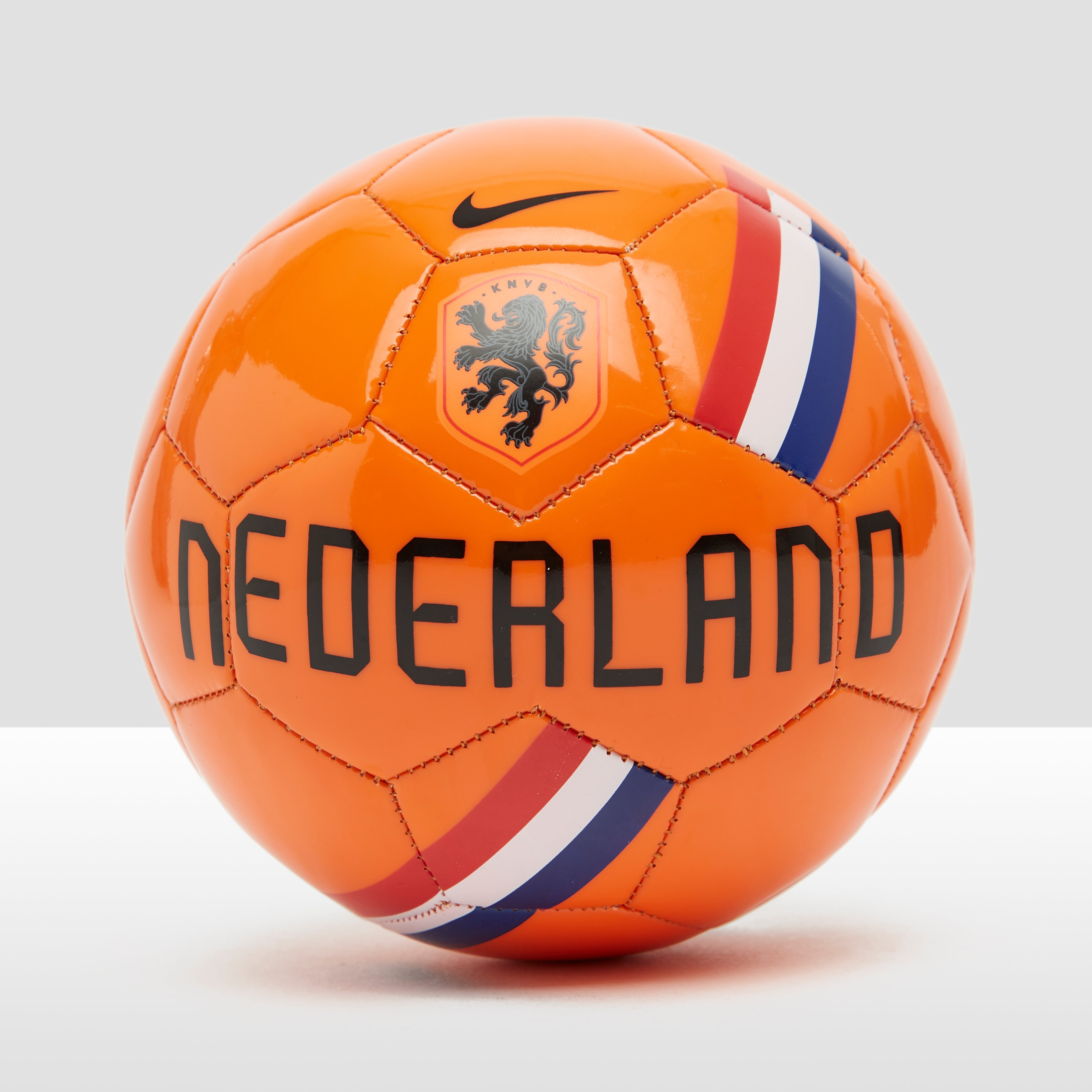 NIKE KNVB SKILLS NL VOETBAL ZWART/ORANJE