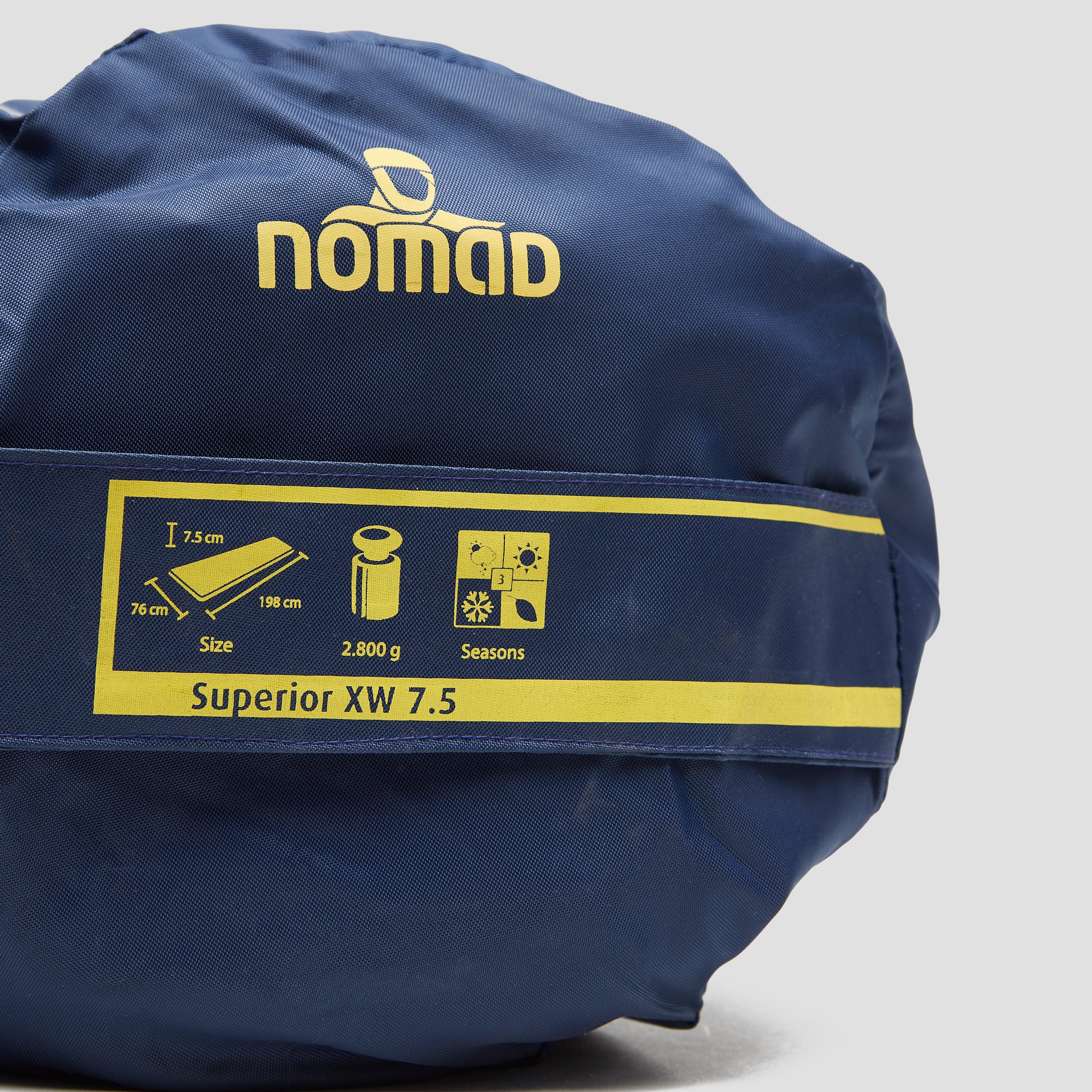 NOMAD SUPERIOR 7.5 XW SLAAPMAT ROOD