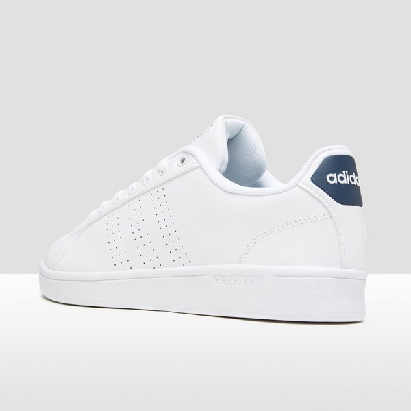 Perrysport Witblauw Adidas Advantage Sneakers Clean Heren ...