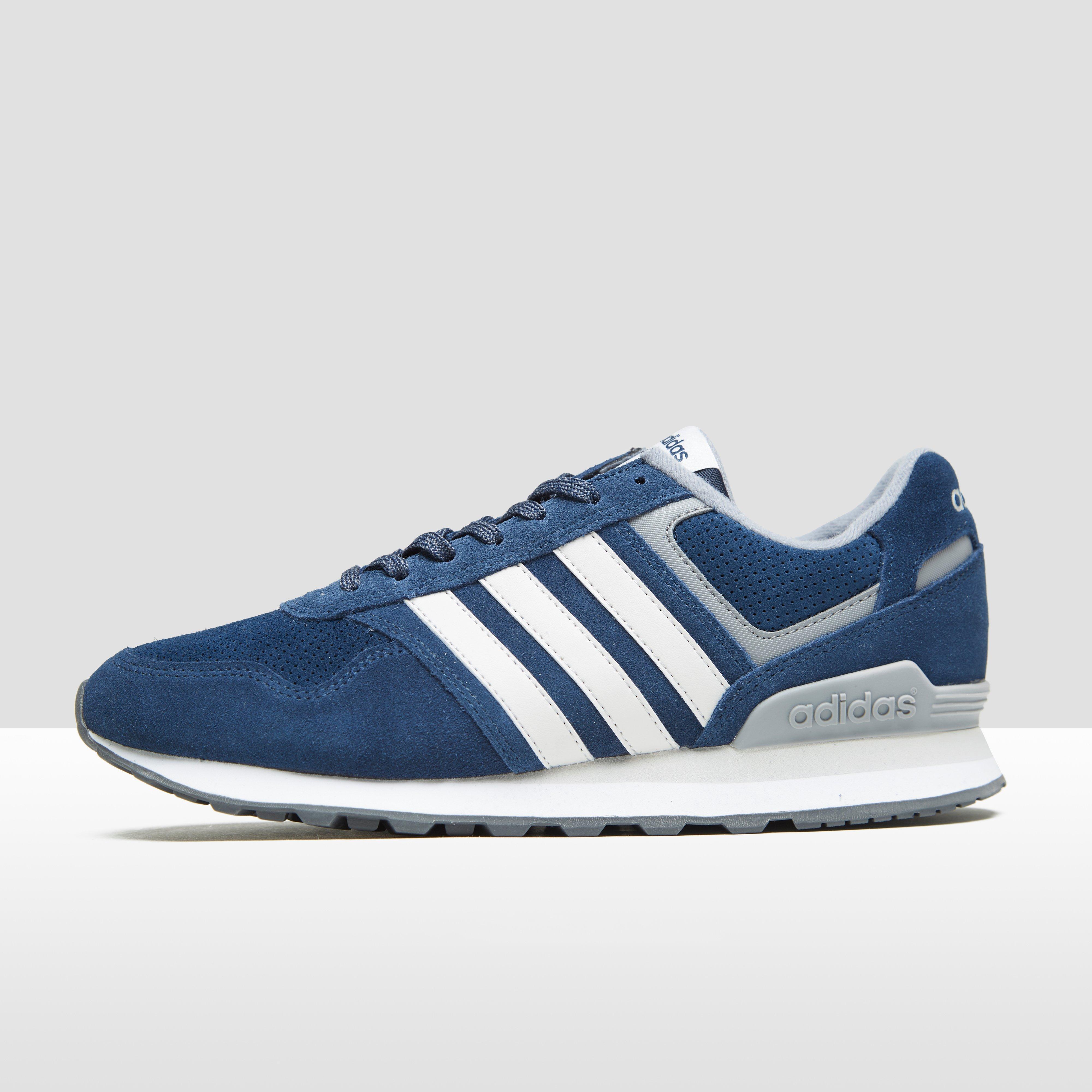 Gris Adidas Formateurs Munchen Hommes - Gris, Taille: 46,5