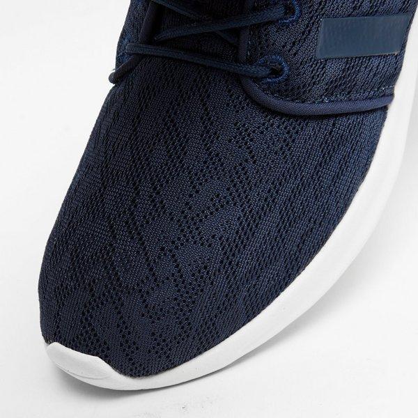 adidas neo cloudfoam blauw