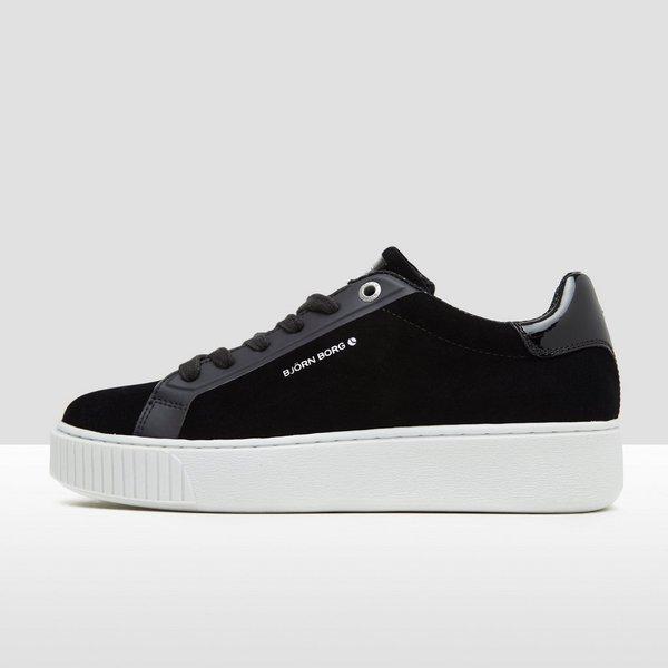 T700 Low Suède DamesPerrysport Bjorn Sneakers Zwart Borg R543LqcjA