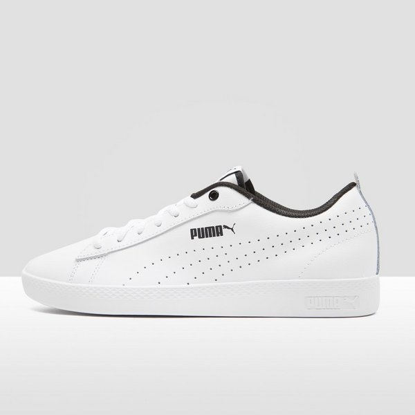 Perforated Puma Wit V2 DamesPerrysport Smash Sneakers D2IH9E