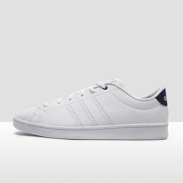 adidas sneakers dames wit blauw