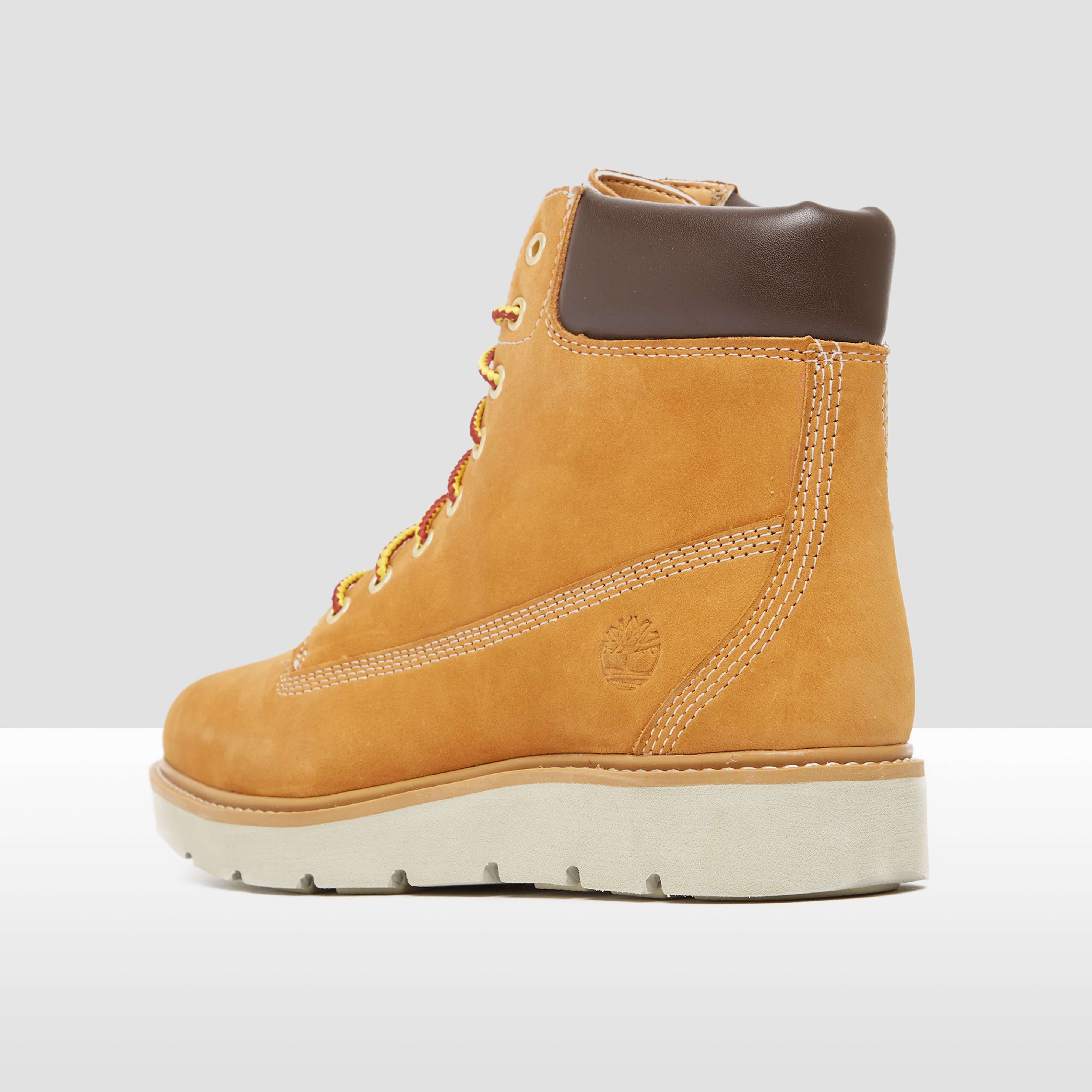 TIMBERLAND KENNISTON LACE UP BOOTS GEEL/BRUIN DAMES