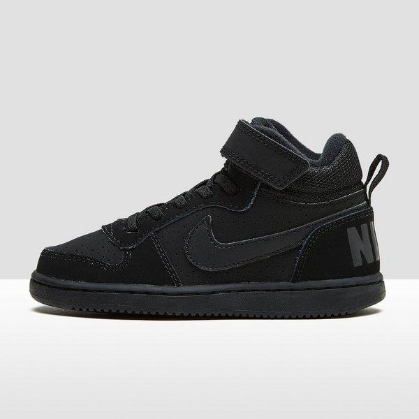 Zwart Perrysport Nike Borough Sneakers Court Kinderen Mid q0w8xawv