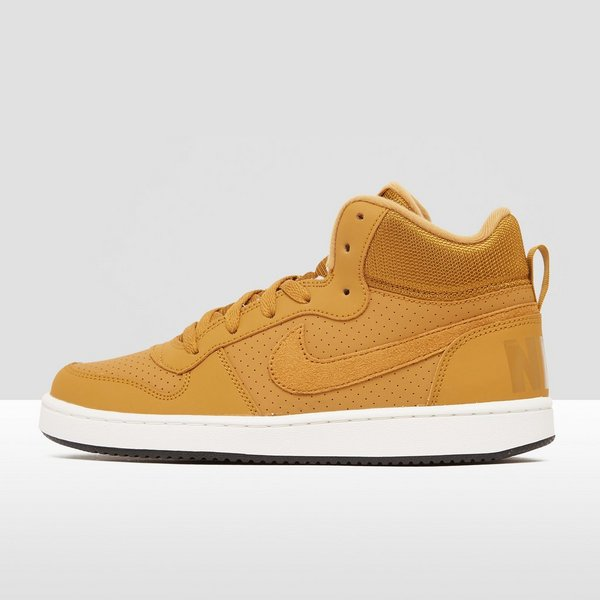new products a27b6 6759d NIKE COURT BOROUGH MID SNEAKERS BRUINGEEL KINDEREN