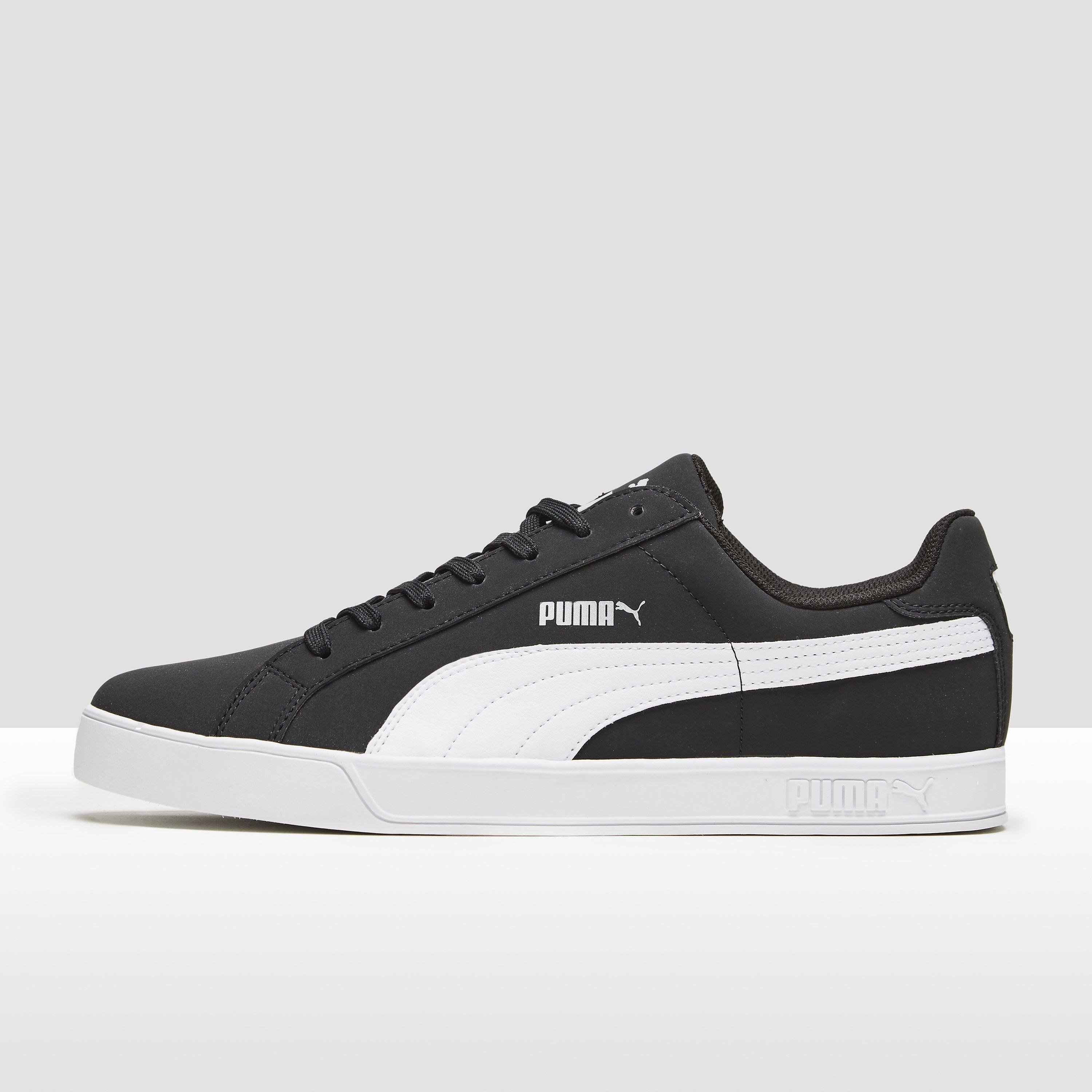 PUMA SMASH VULC SNEAKERS ZWART HEREN