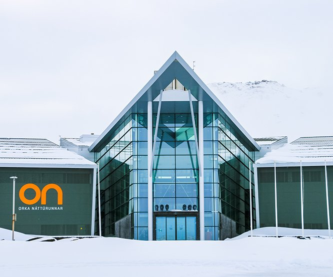 carbon capturing centre in Iceland
