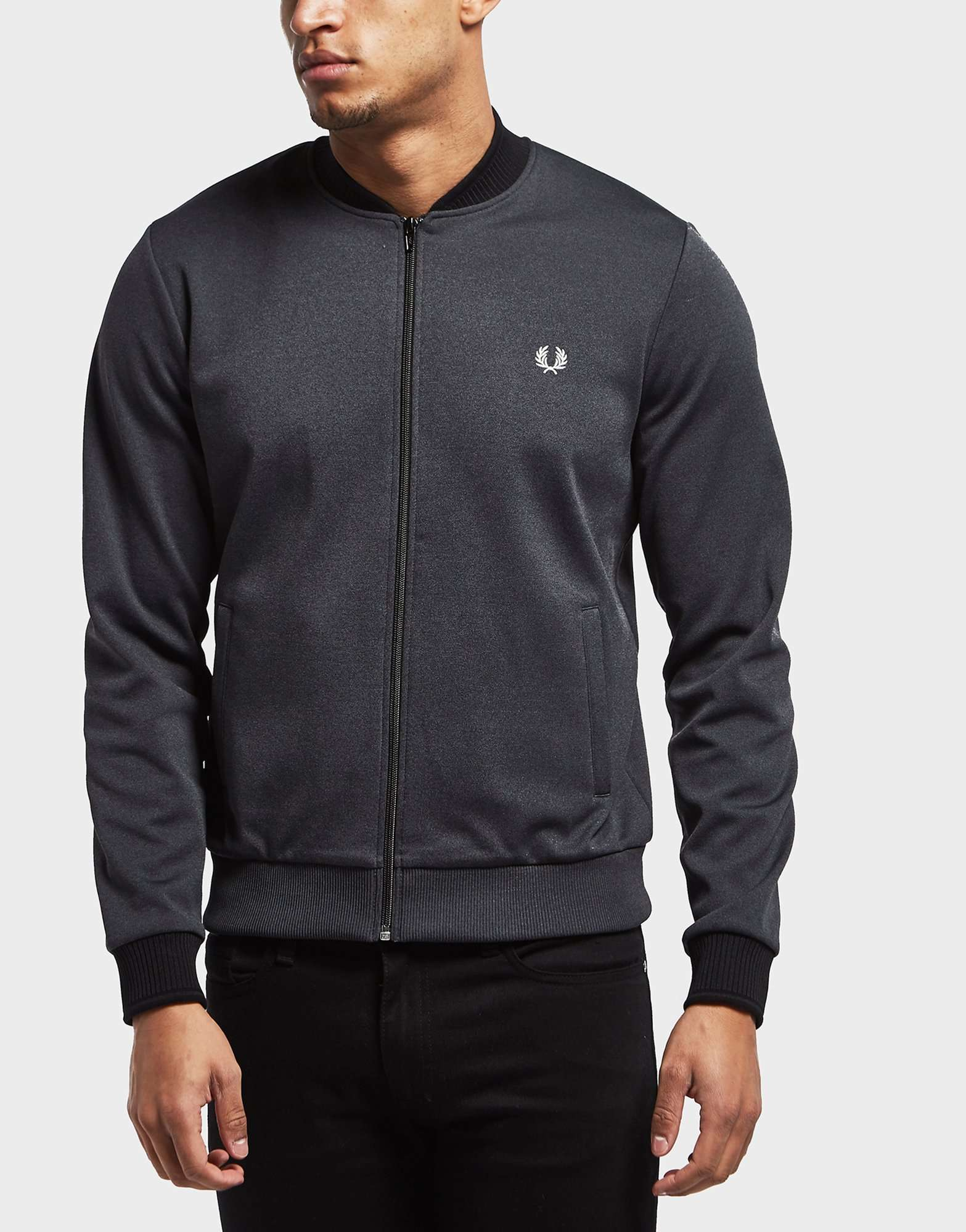 Fred Perry Tipped Bomber Track Top - Online Exclusive