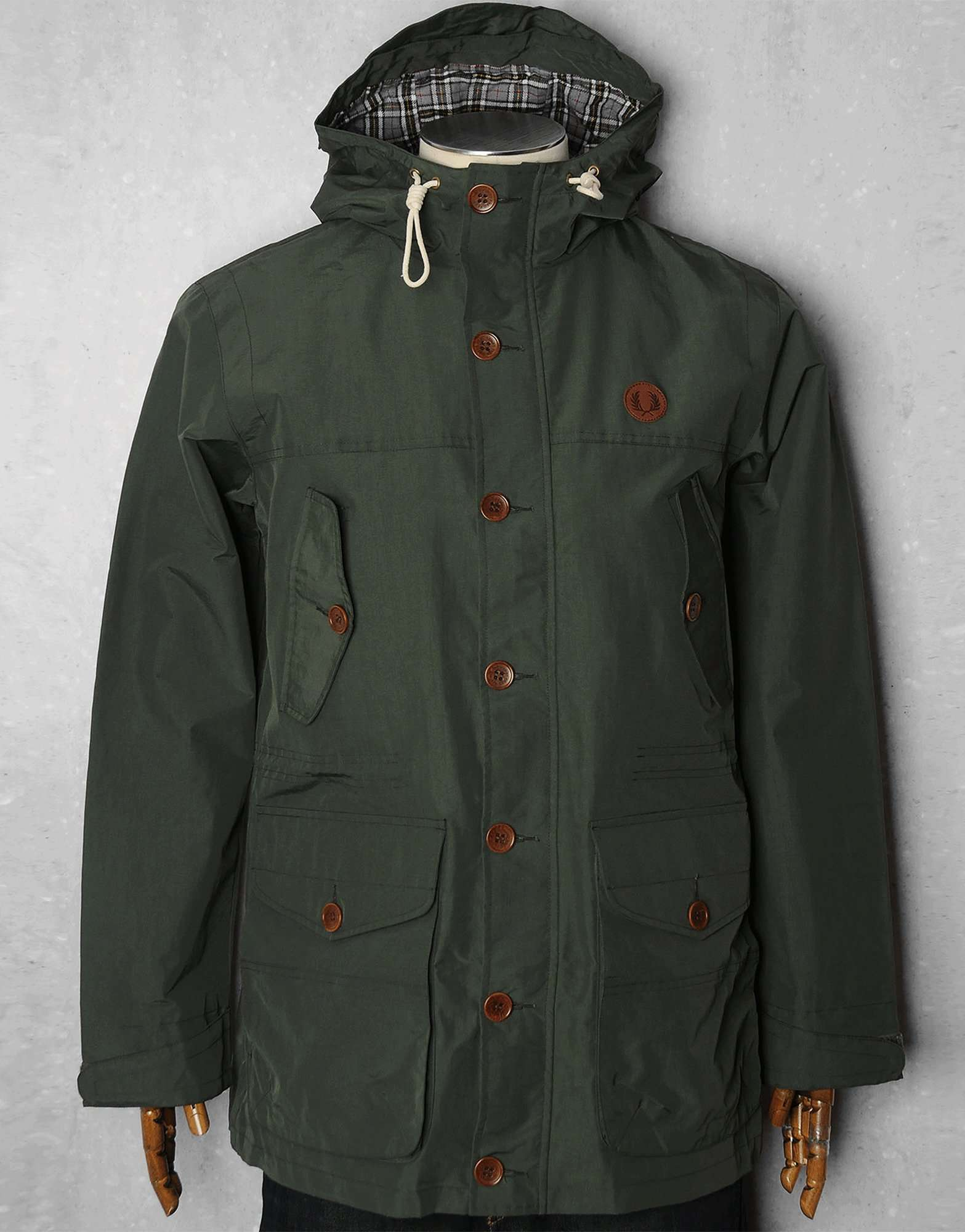 fred perry mountain parka scotts menswear. Black Bedroom Furniture Sets. Home Design Ideas