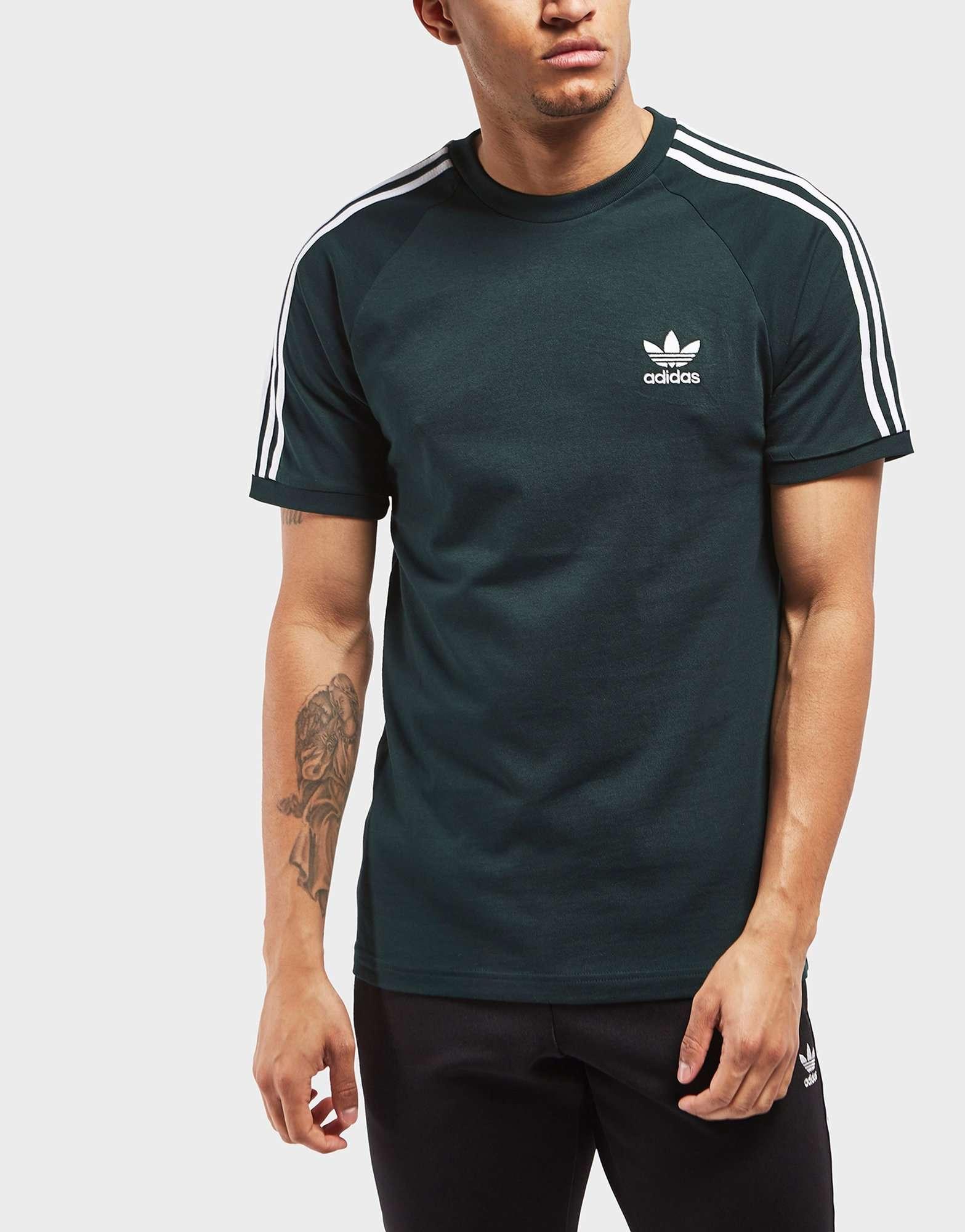 adidas Originals 3-Stripes Short Sleeve T-Shirt