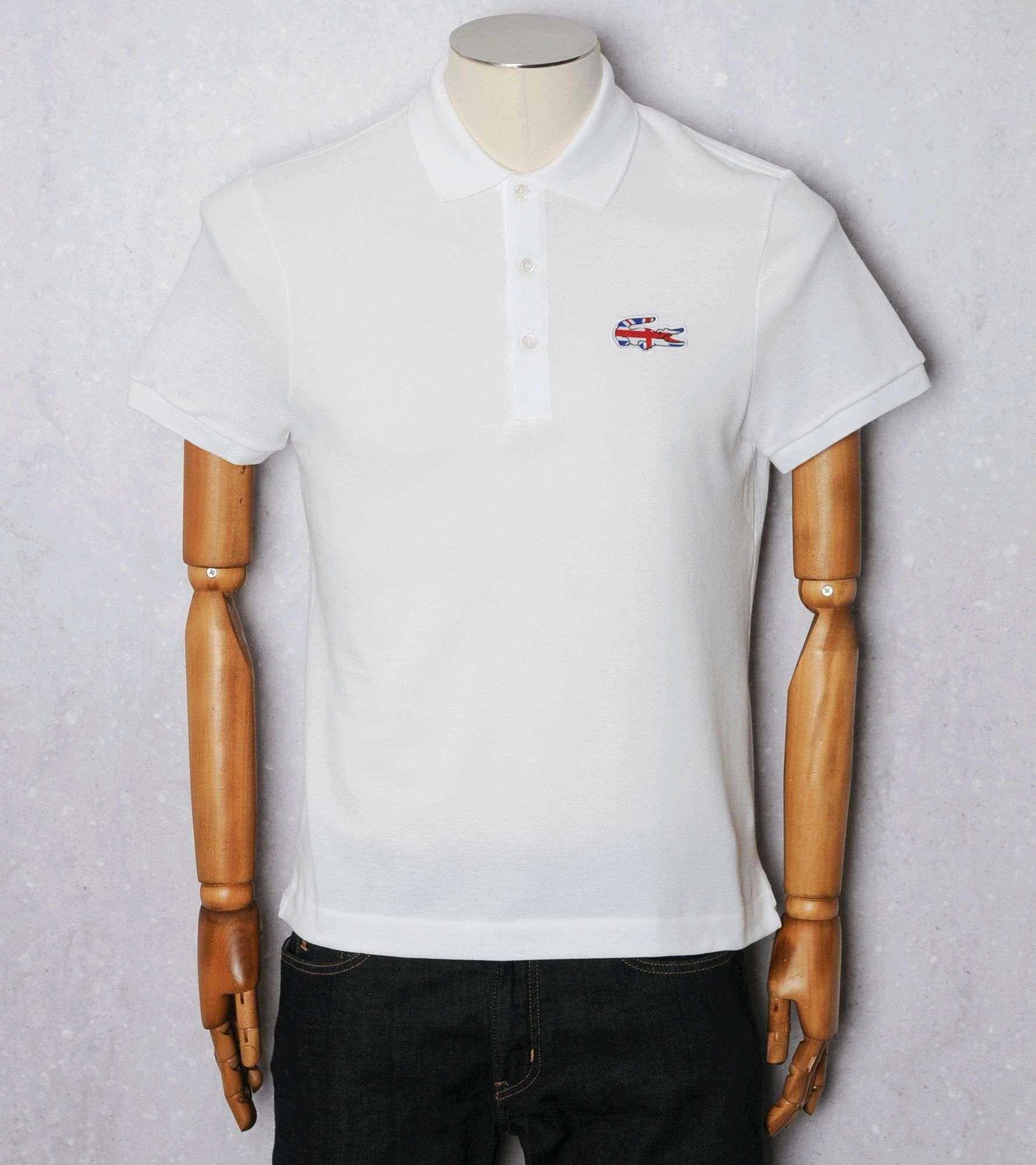50d1a35703db1d Lacoste UK Flag Polo Shirt