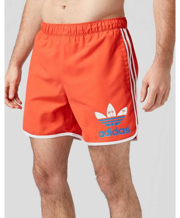 adidas Originals Island Swim Shorts - Red