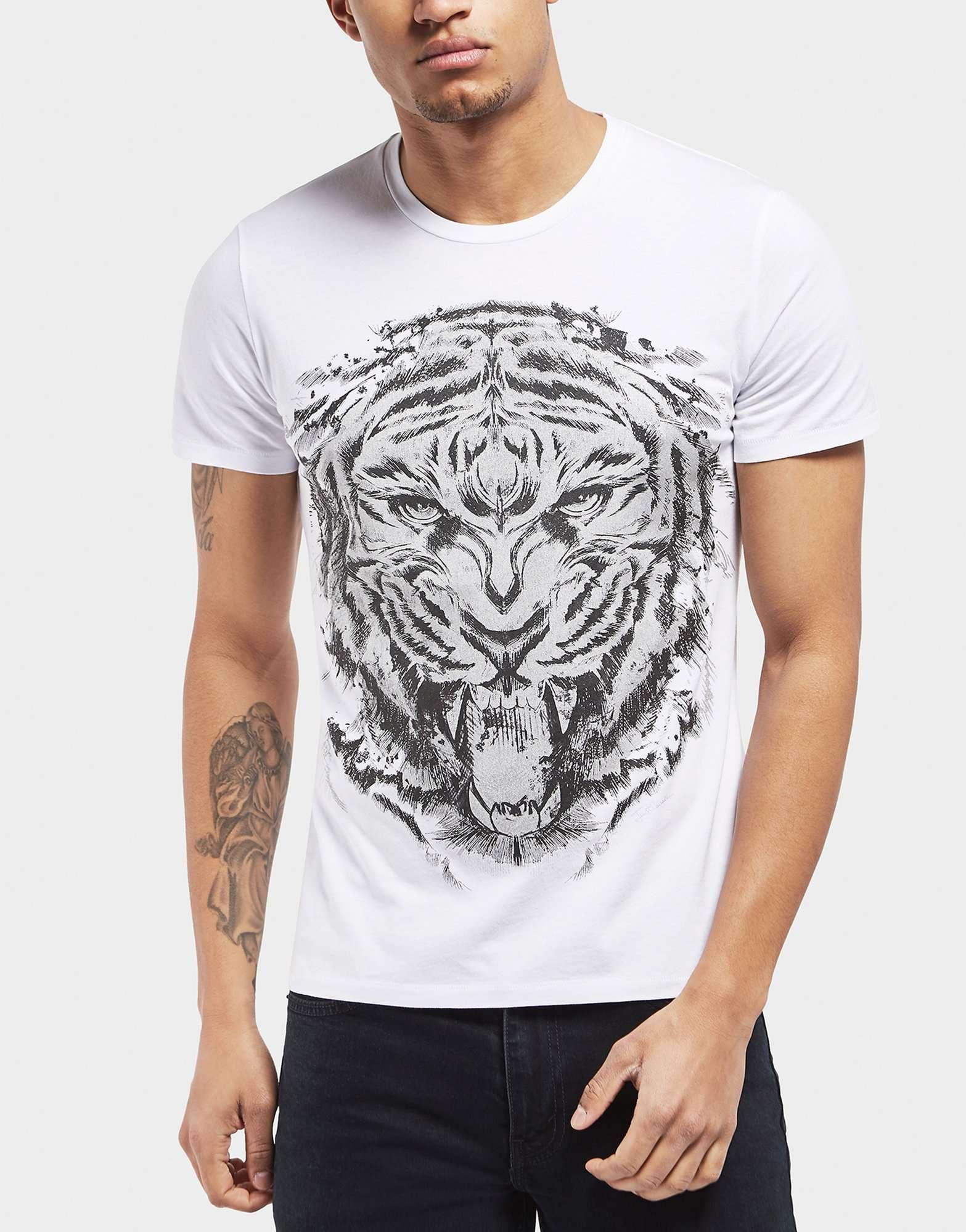 ad070c078 Just Cavalli Tiger T Shirt | Top Mode Depot